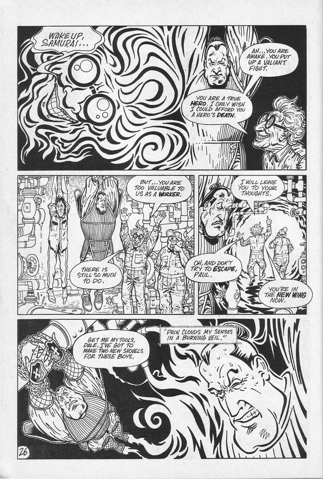 Read online Paul the Samurai (1991) comic -  Issue # TPB - 32