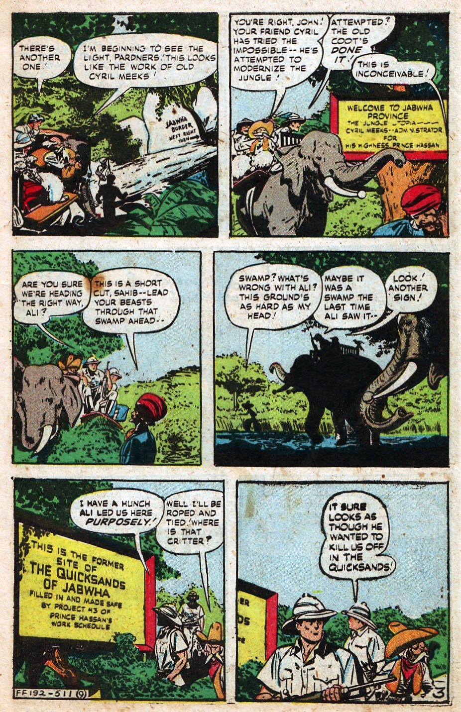 Read online Famous Funnies comic -  Issue #192 - 11