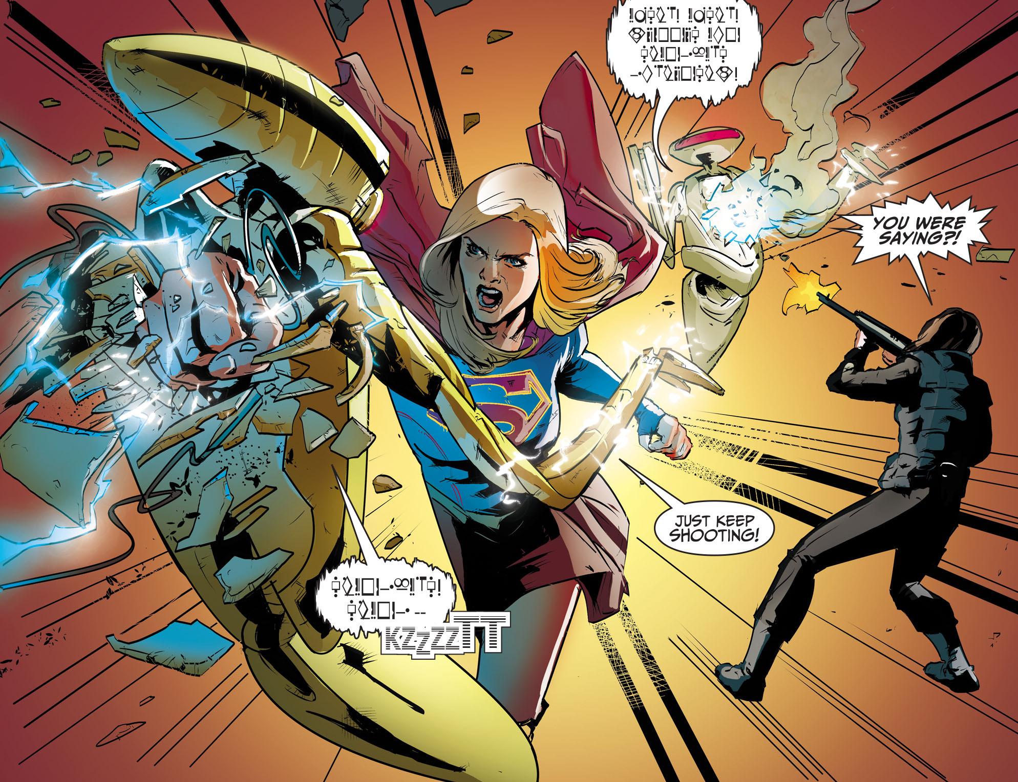 Read online Adventures of Supergirl comic -  Issue #8 - 16