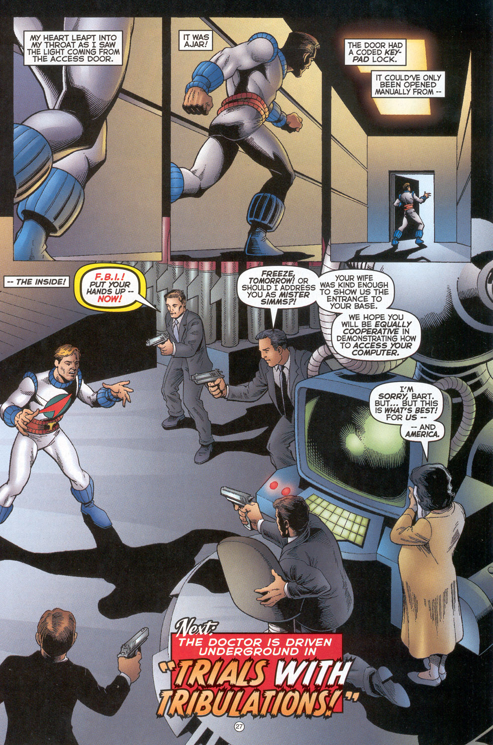 Read online Doctor Tomorrow comic -  Issue #4 - 22