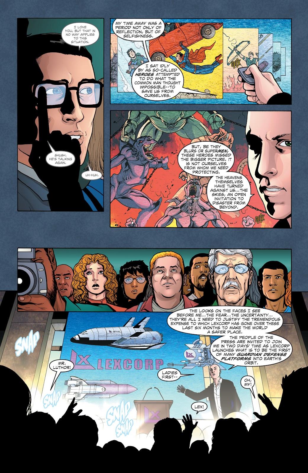 Read online Smallville Season 11 [II] comic -  Issue # TPB 1 - 47