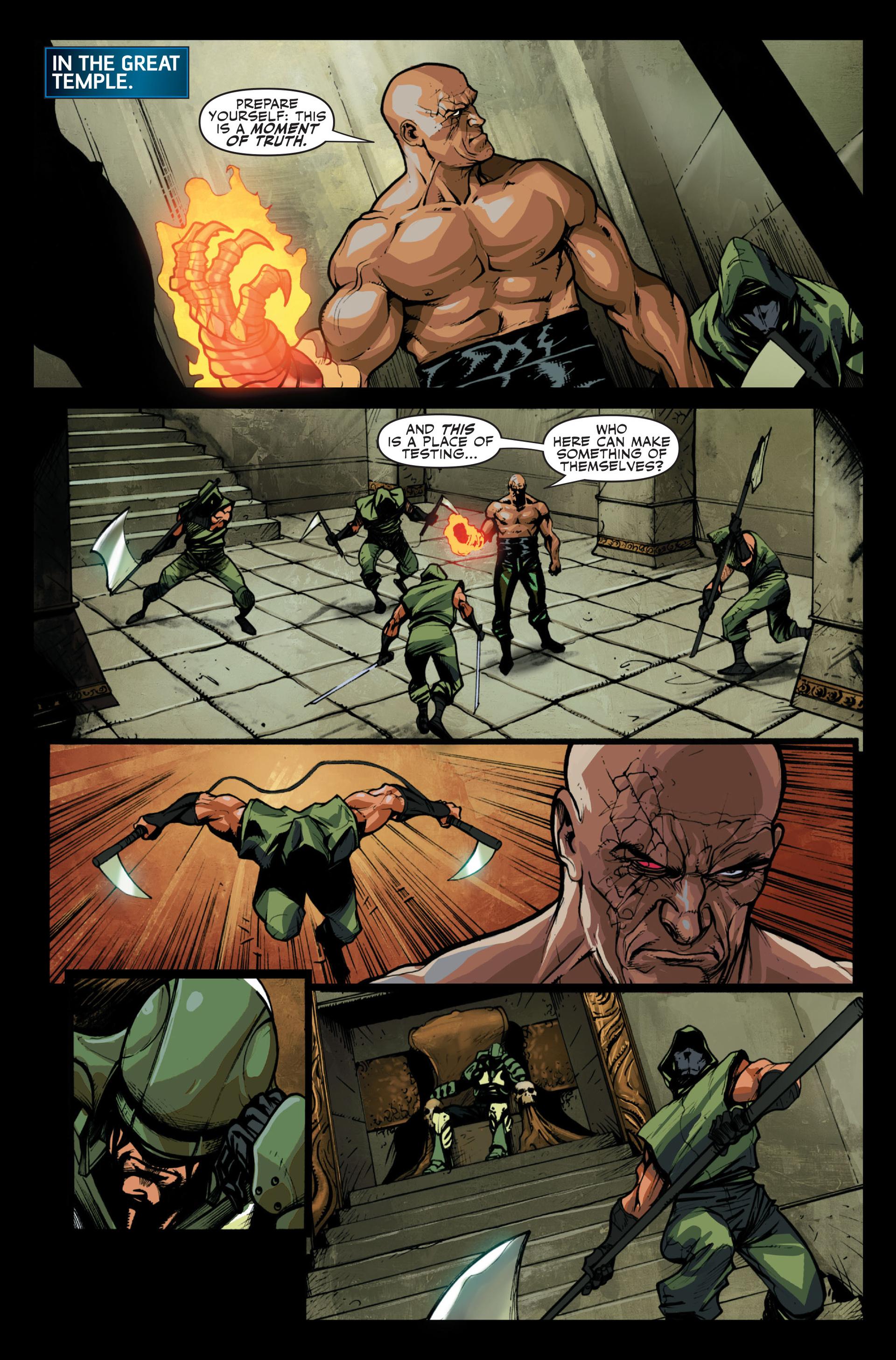 Read online Secret Warriors comic -  Issue #13 - 11