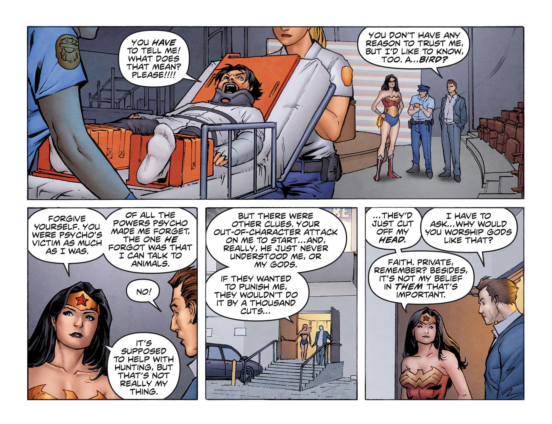 Read online Sensation Comics Featuring Wonder Woman comic -  Issue #6 - 21