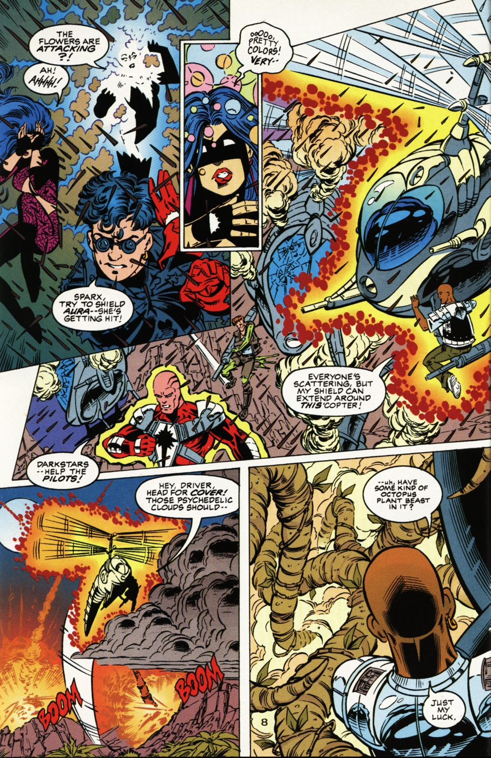 Read online Superboy & The Ravers comic -  Issue #4 - 9