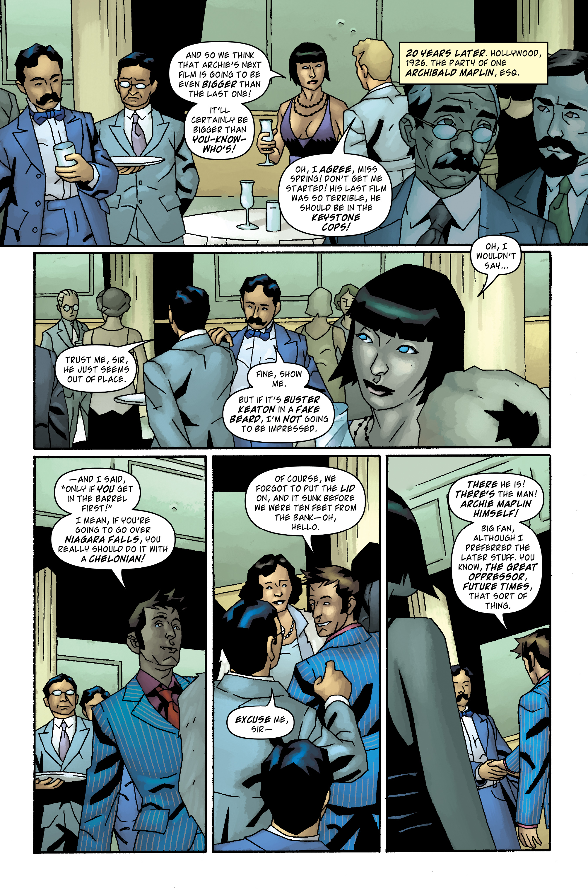 Read online Doctor Who: The Tenth Doctor Archives comic -  Issue #34 - 21