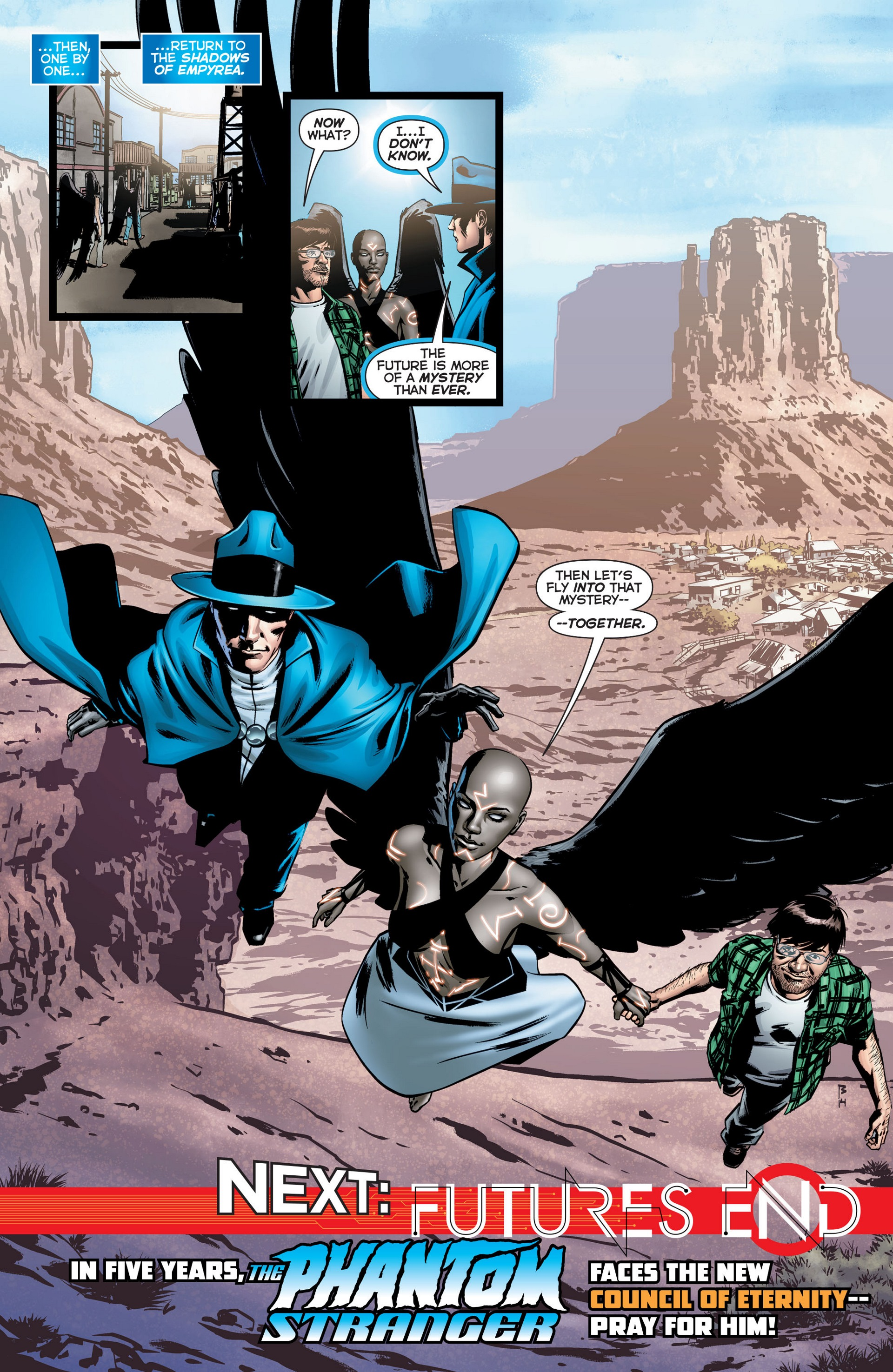 Read online Trinity of Sin: The Phantom Stranger comic -  Issue #22 - 20