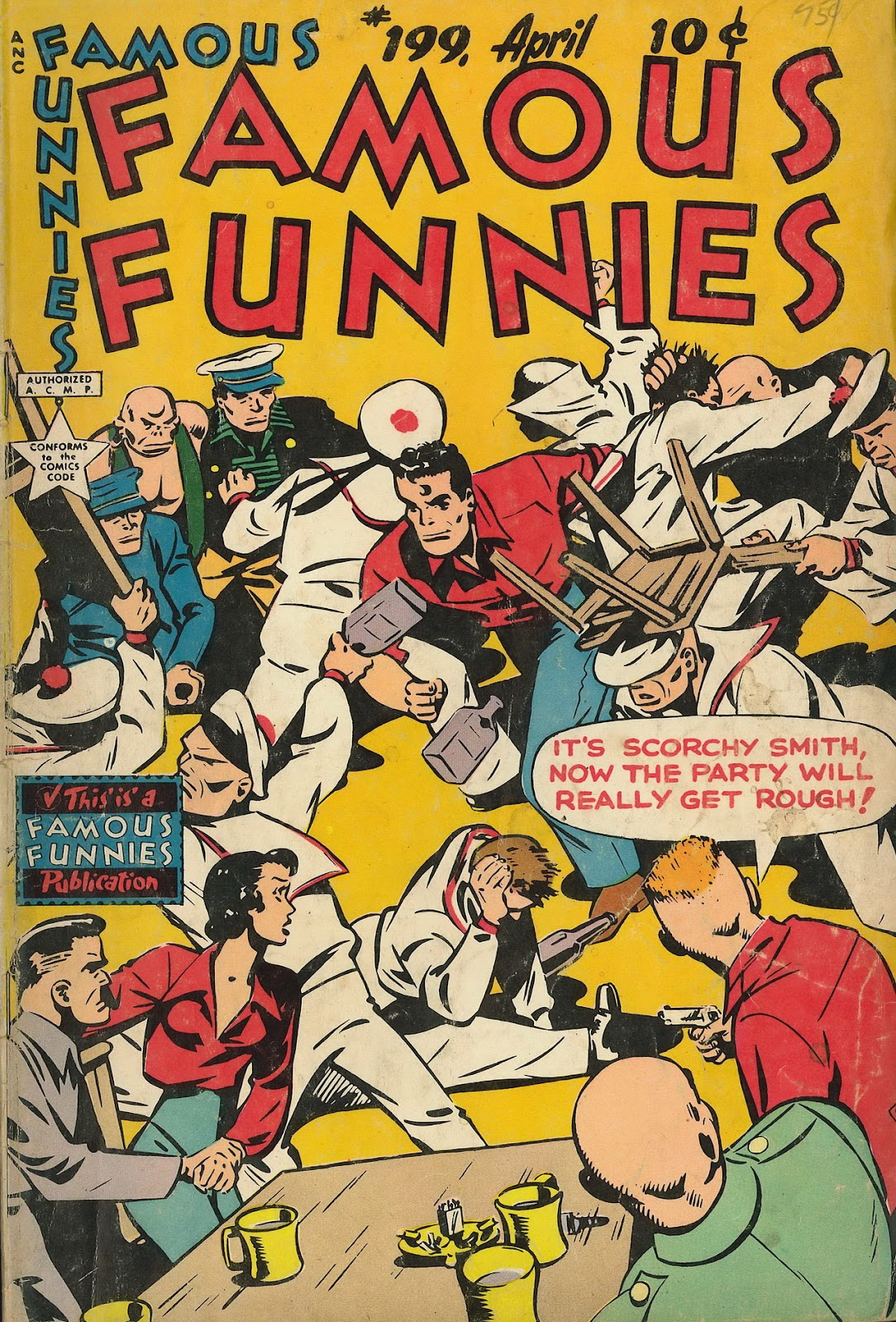Read online Famous Funnies comic -  Issue #199 - 1