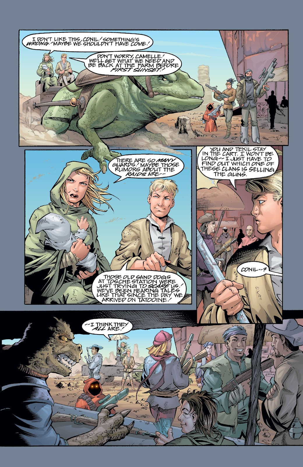 Read online Star Wars Legends Epic Collection: The Menace Revealed comic -  Issue # TPB (Part 1) - 99