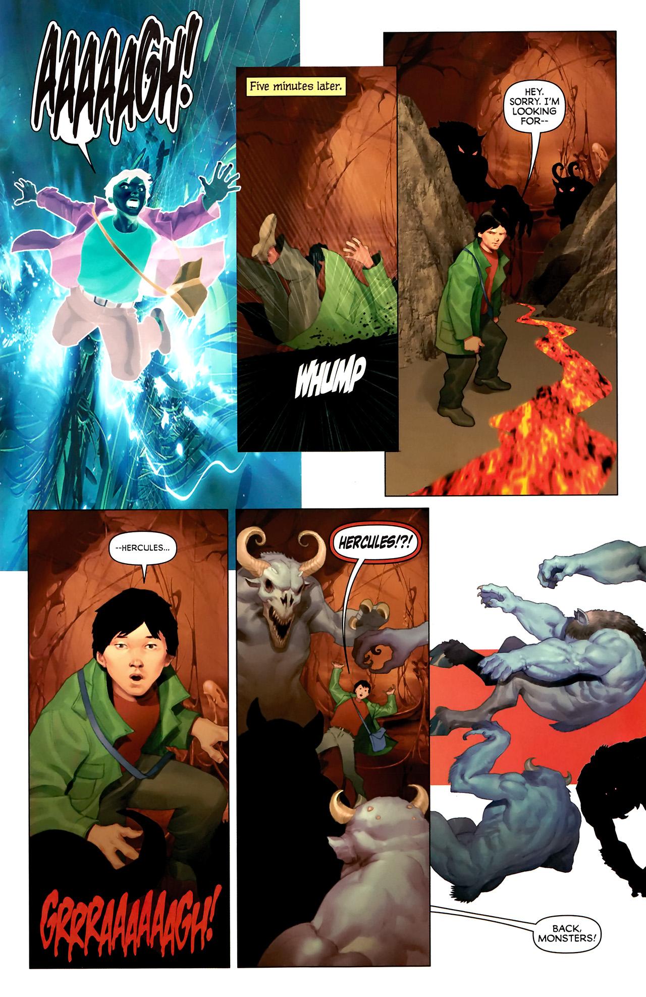 Read online Hercules: Fall of an Avenger comic -  Issue #2 - 20