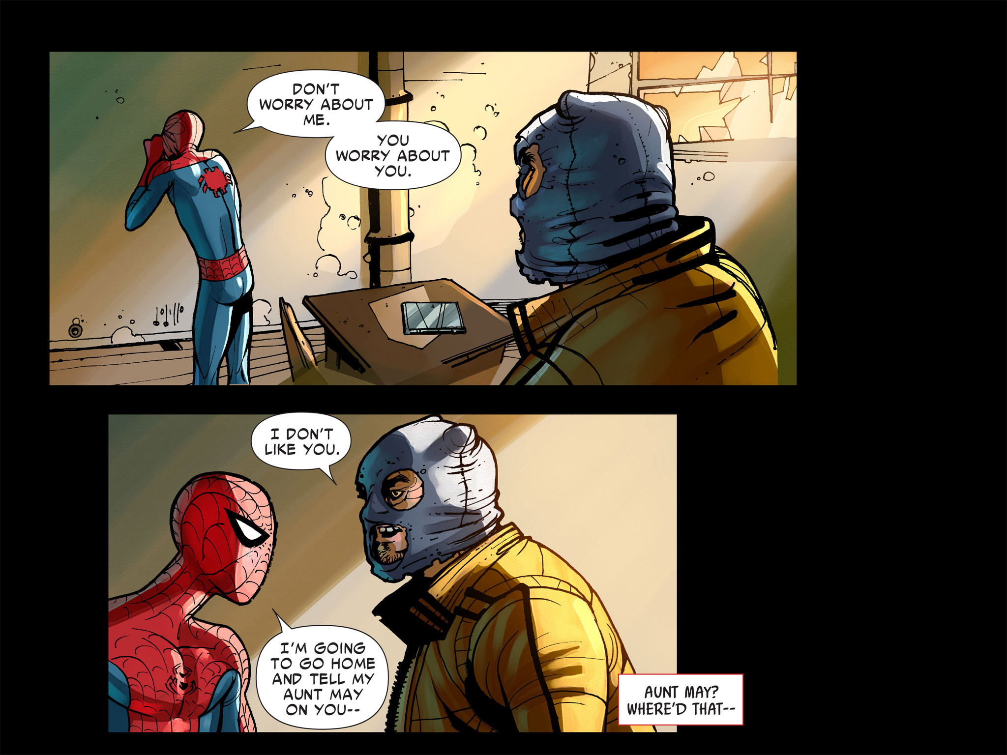 Read online Amazing Spider-Man: Who Am I? comic -  Issue # Full (Part 1) - 105