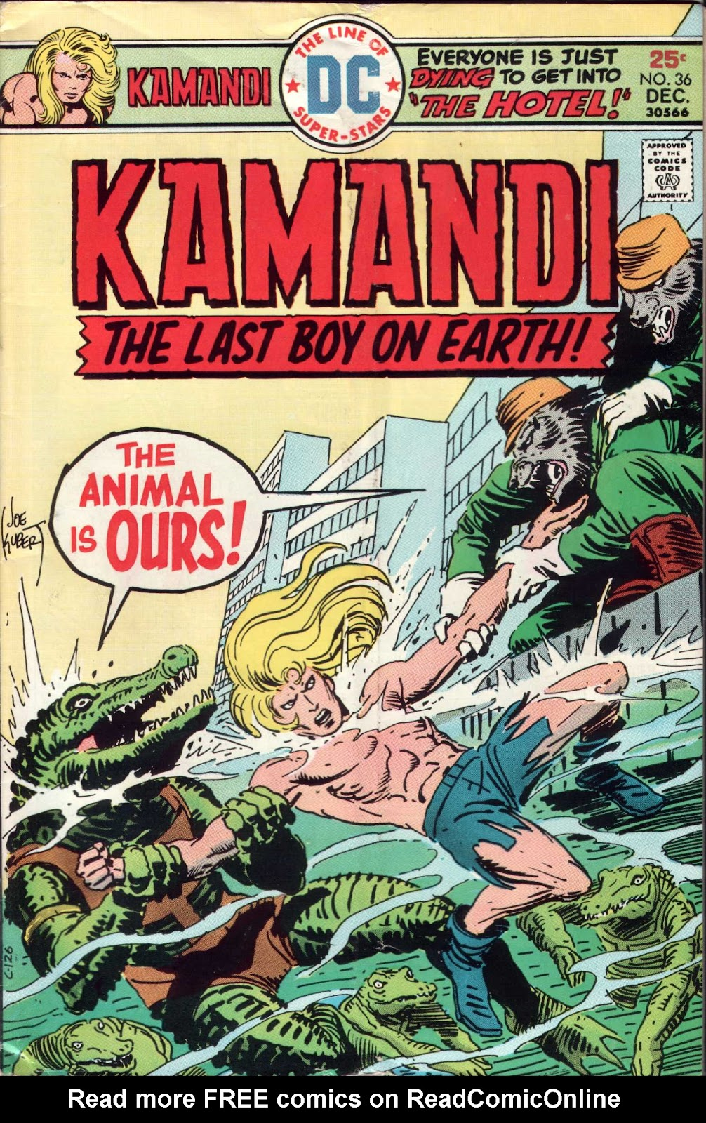 Kamandi, The Last Boy On Earth issue 36 - Page 1