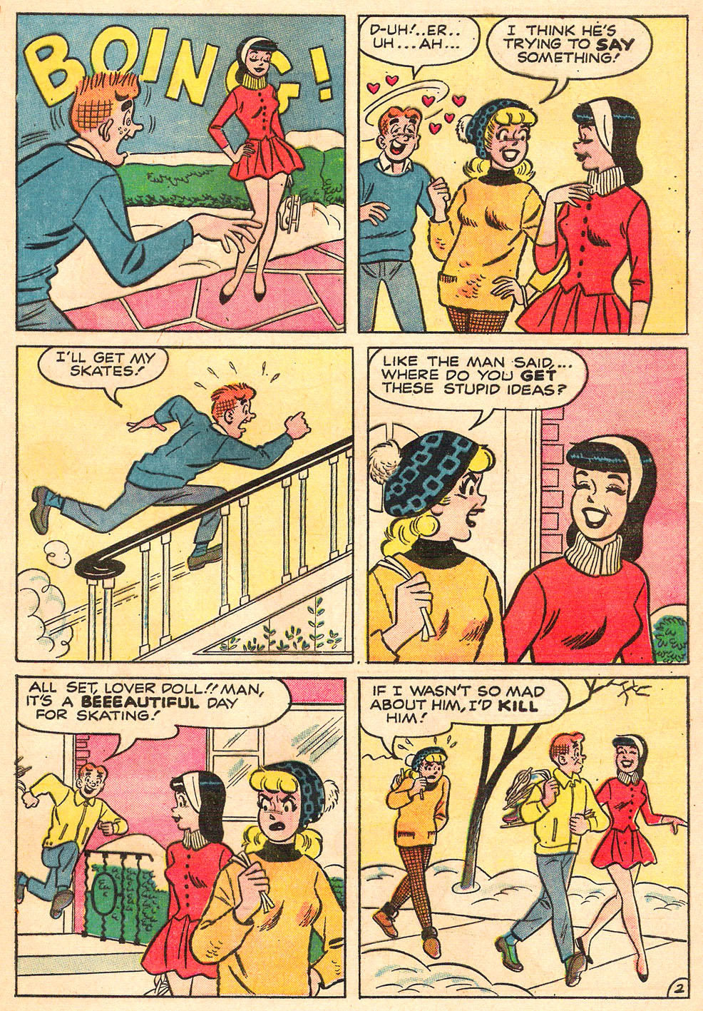 Read online Archie's Girls Betty and Veronica comic -  Issue #98 - 21