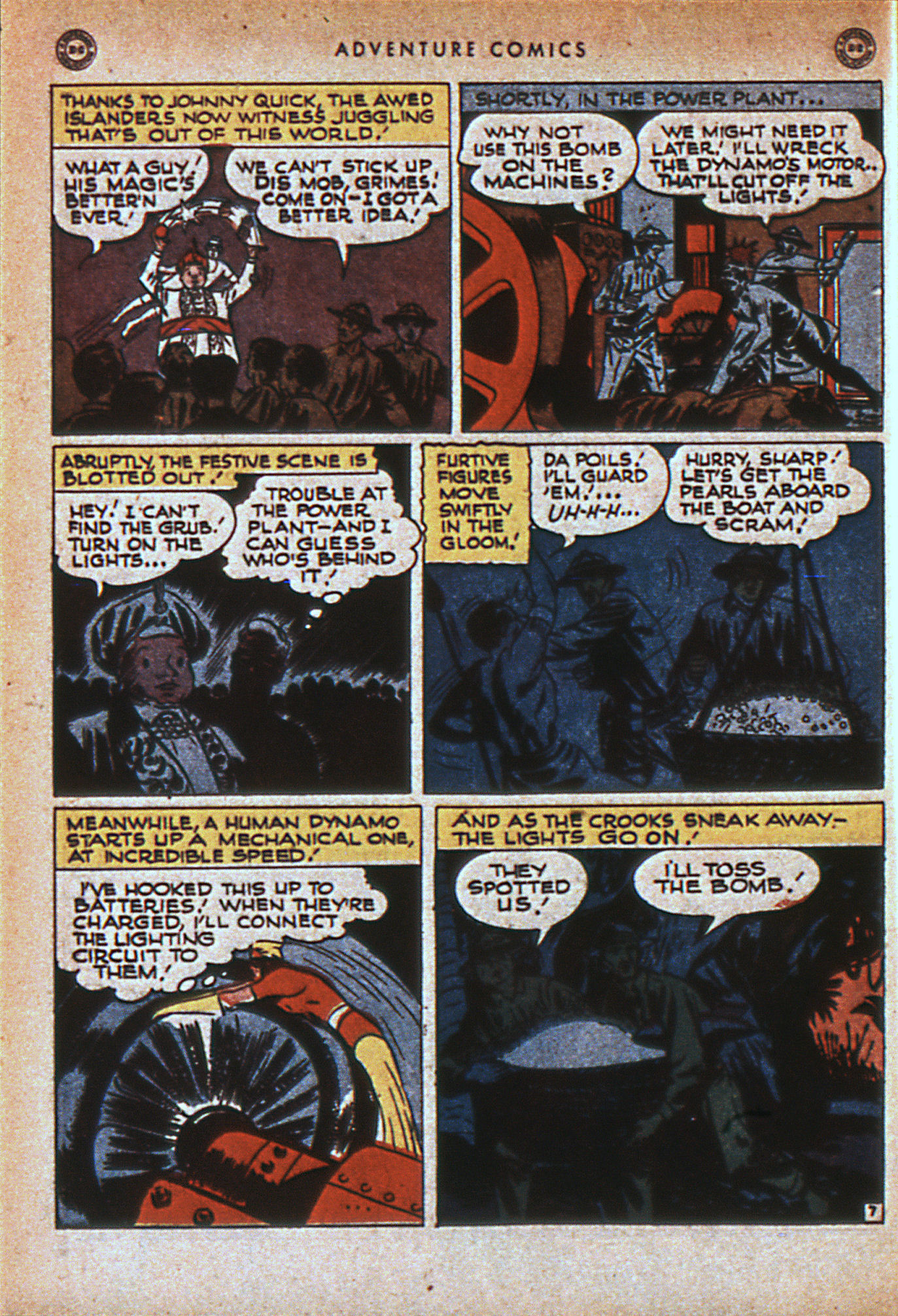 Read online Adventure Comics (1938) comic -  Issue #116 - 47