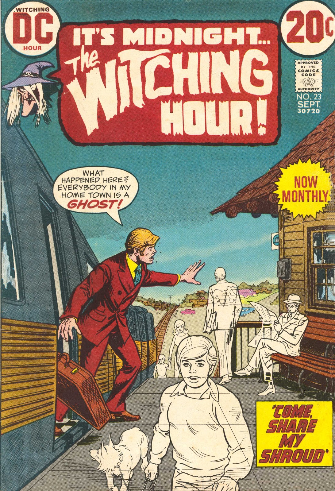 The Witching Hour (1969) issue 23 - Page 1