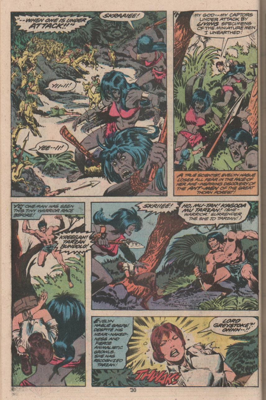 Read online Tarzan (1977) comic -  Issue # _Annual 3 - 23