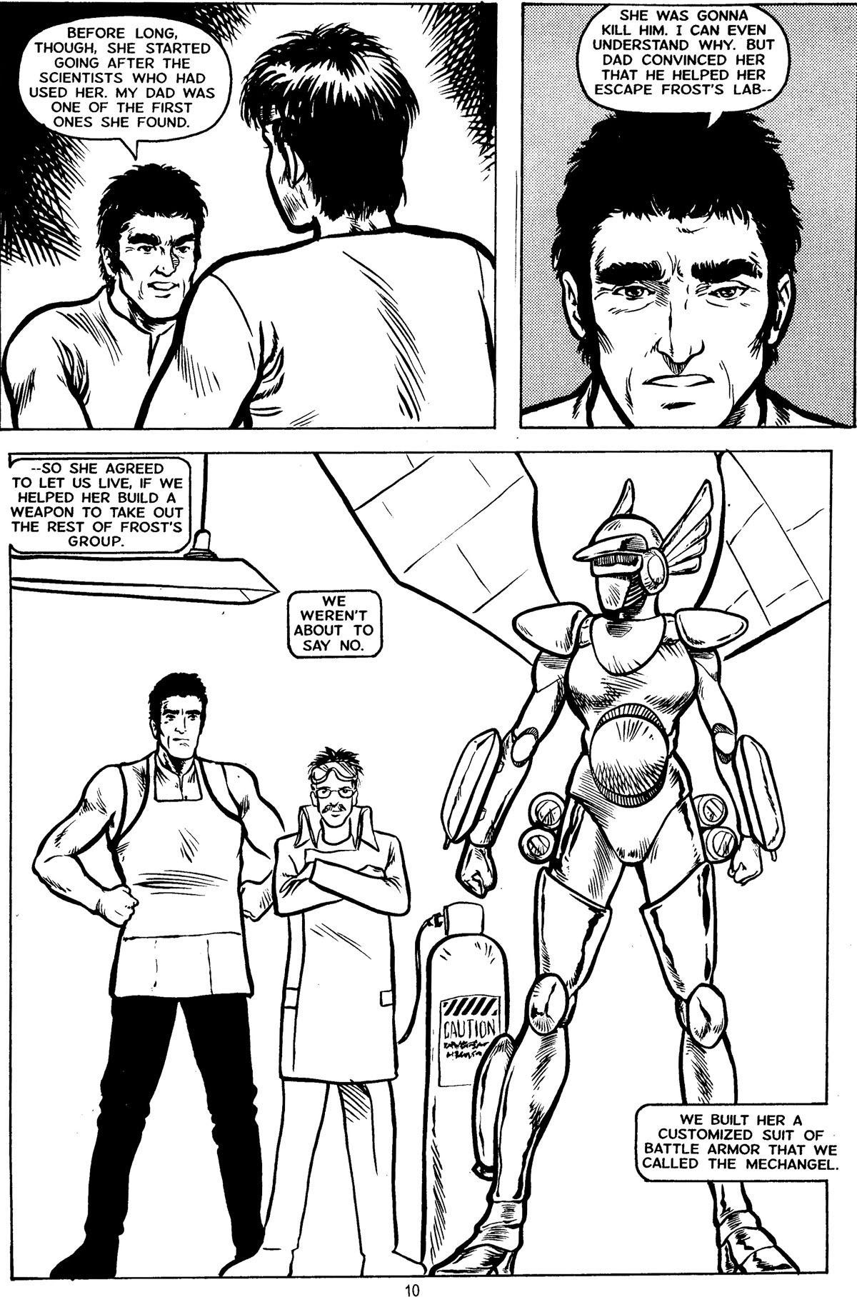 Robotech MechAngel issue 3 - Page 14