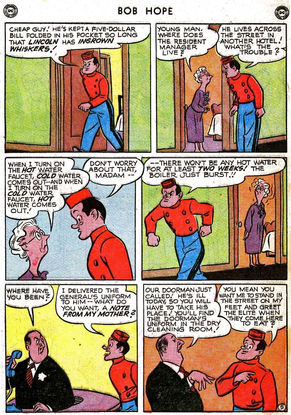 The Adventures of Bob Hope issue 8 - Page 7