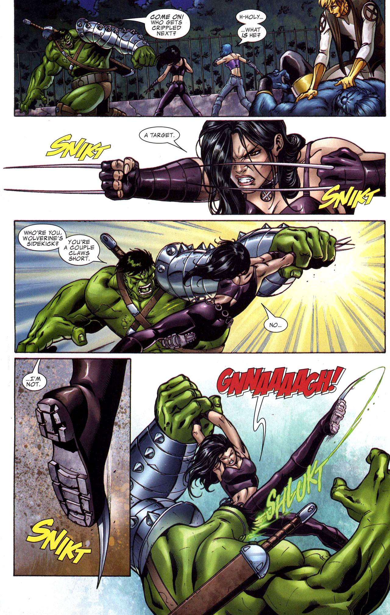 Read online World War Hulk: X-Men comic -  Issue #1 - 17