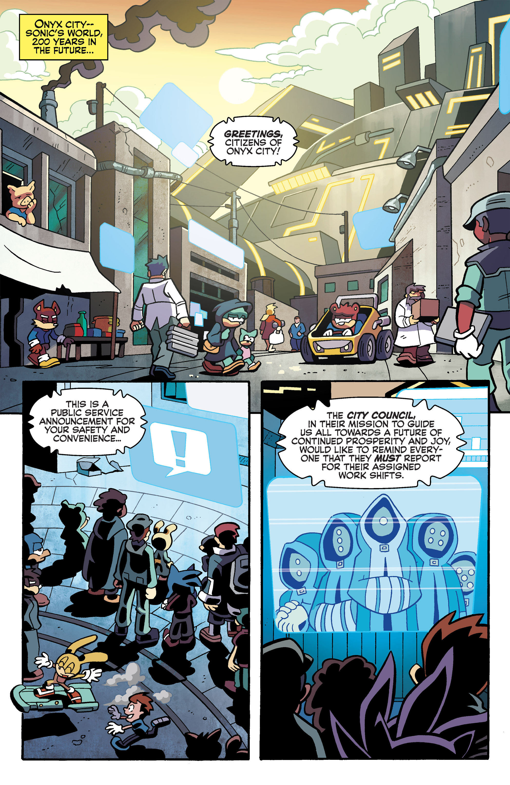 Read online Sonic Universe comic -  Issue #79 - 4