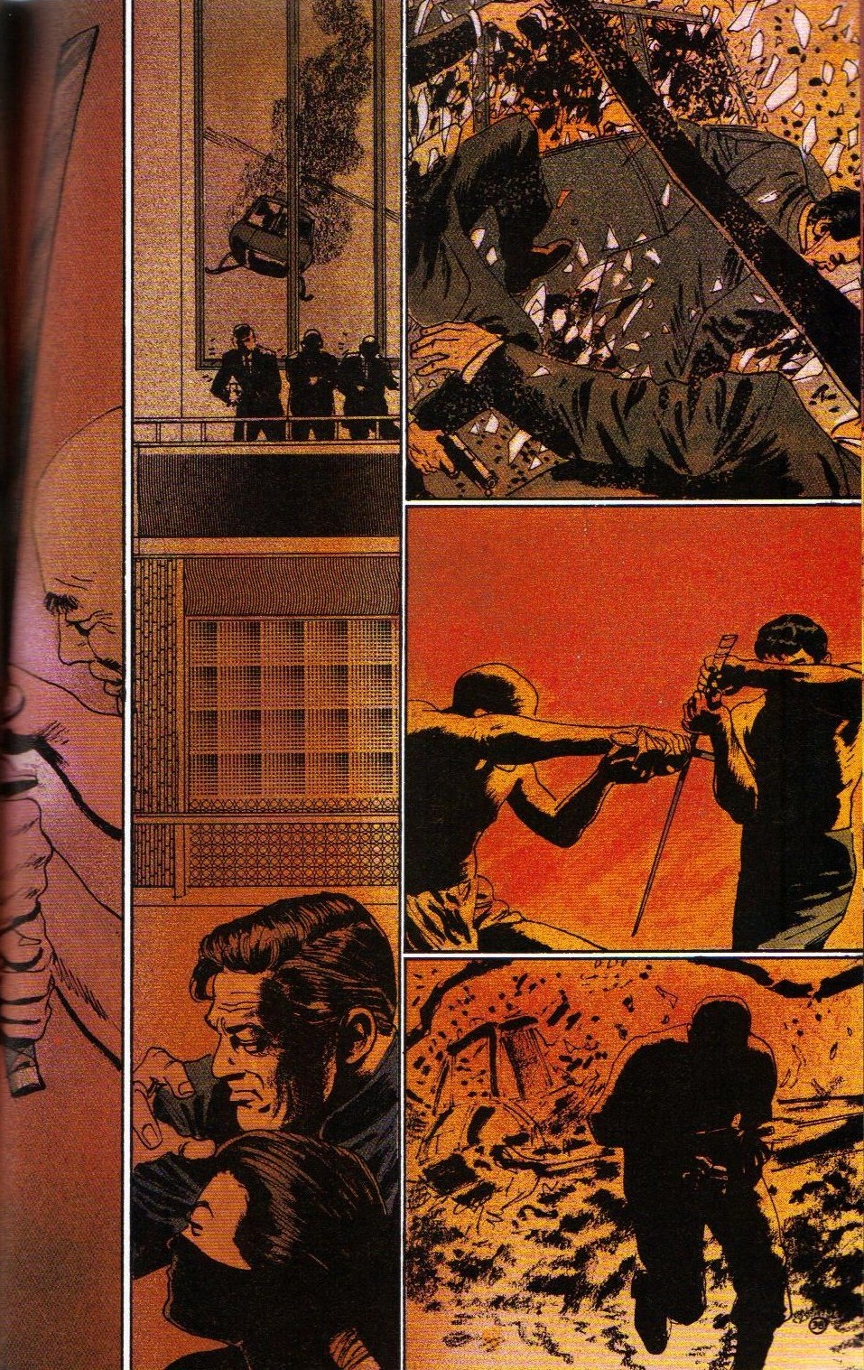 Read online Shado: Song of the Dragon comic -  Issue #4 - 41