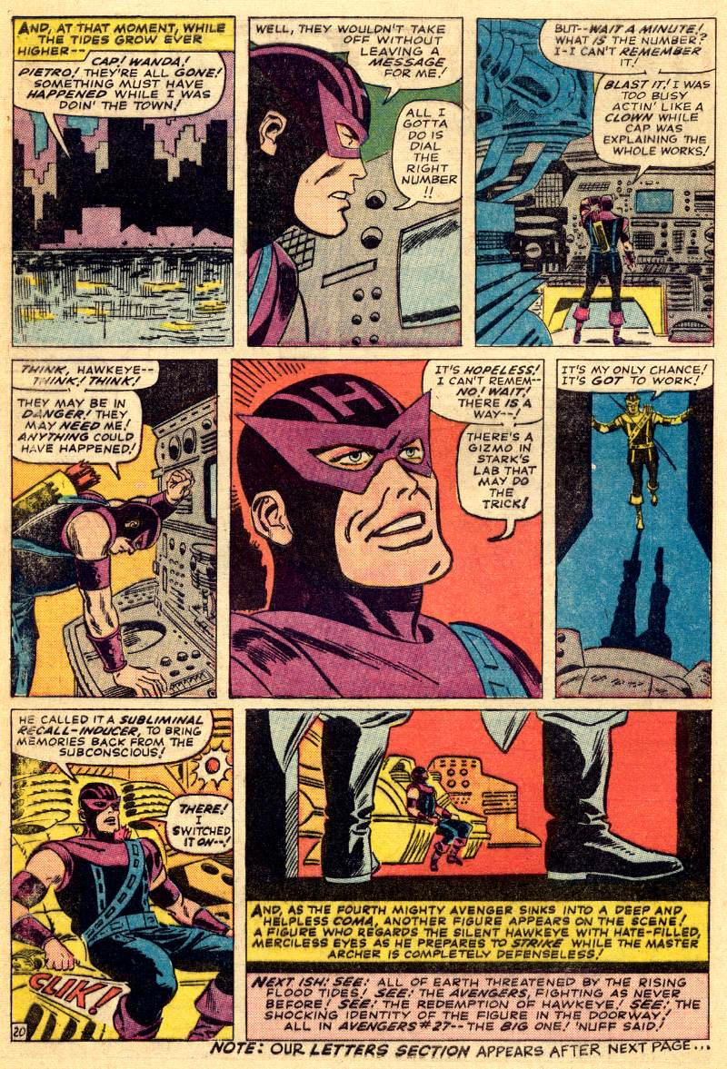 The Avengers (1963) 26 Page 27