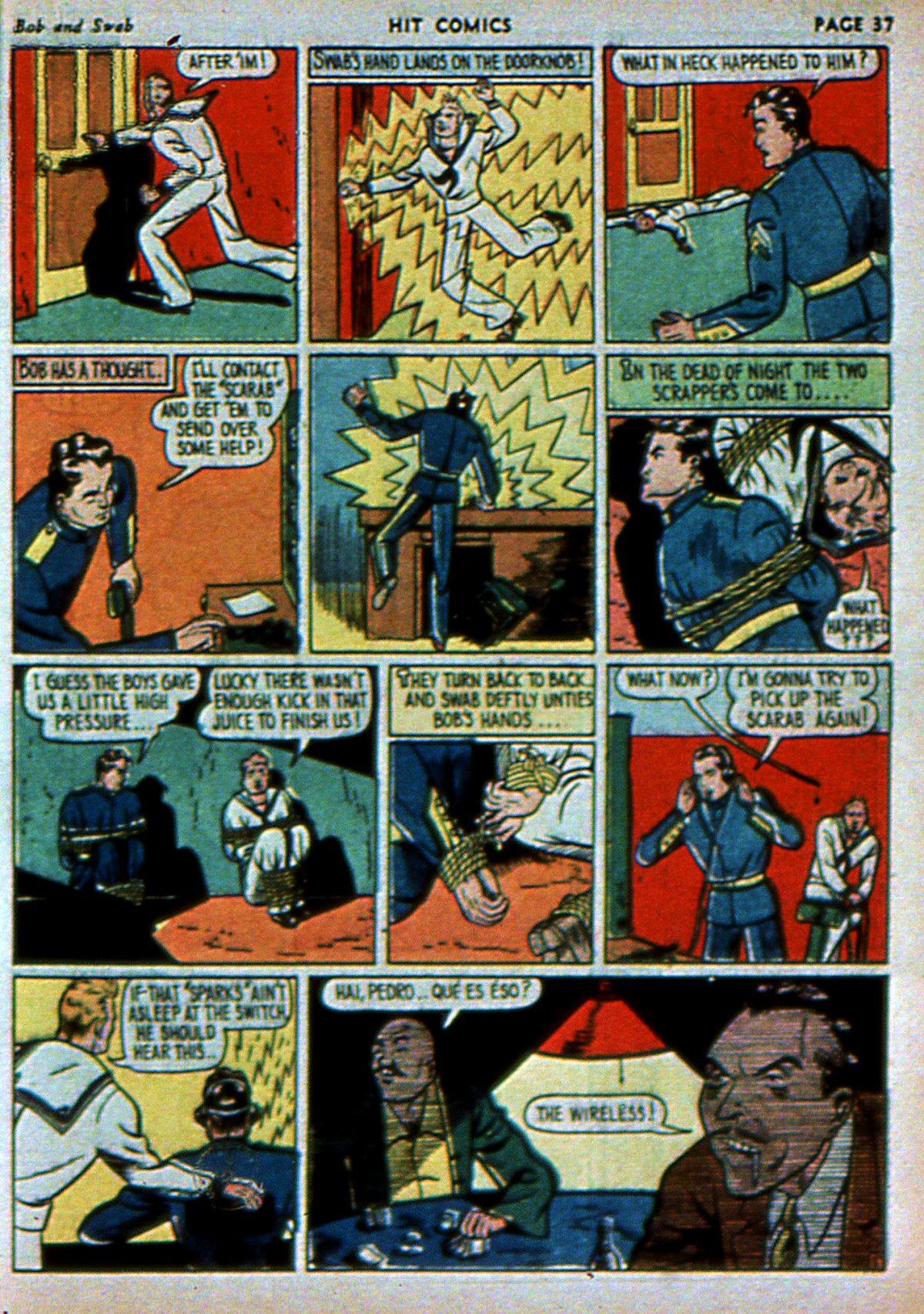 Read online Hit Comics comic -  Issue #3 - 39