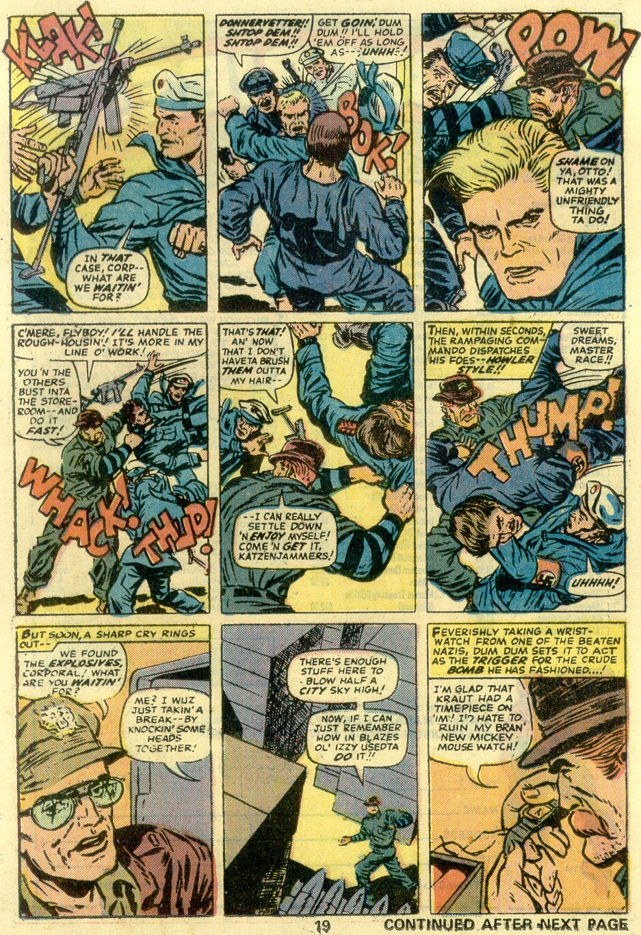 Read online Sgt. Fury comic -  Issue #128 - 21