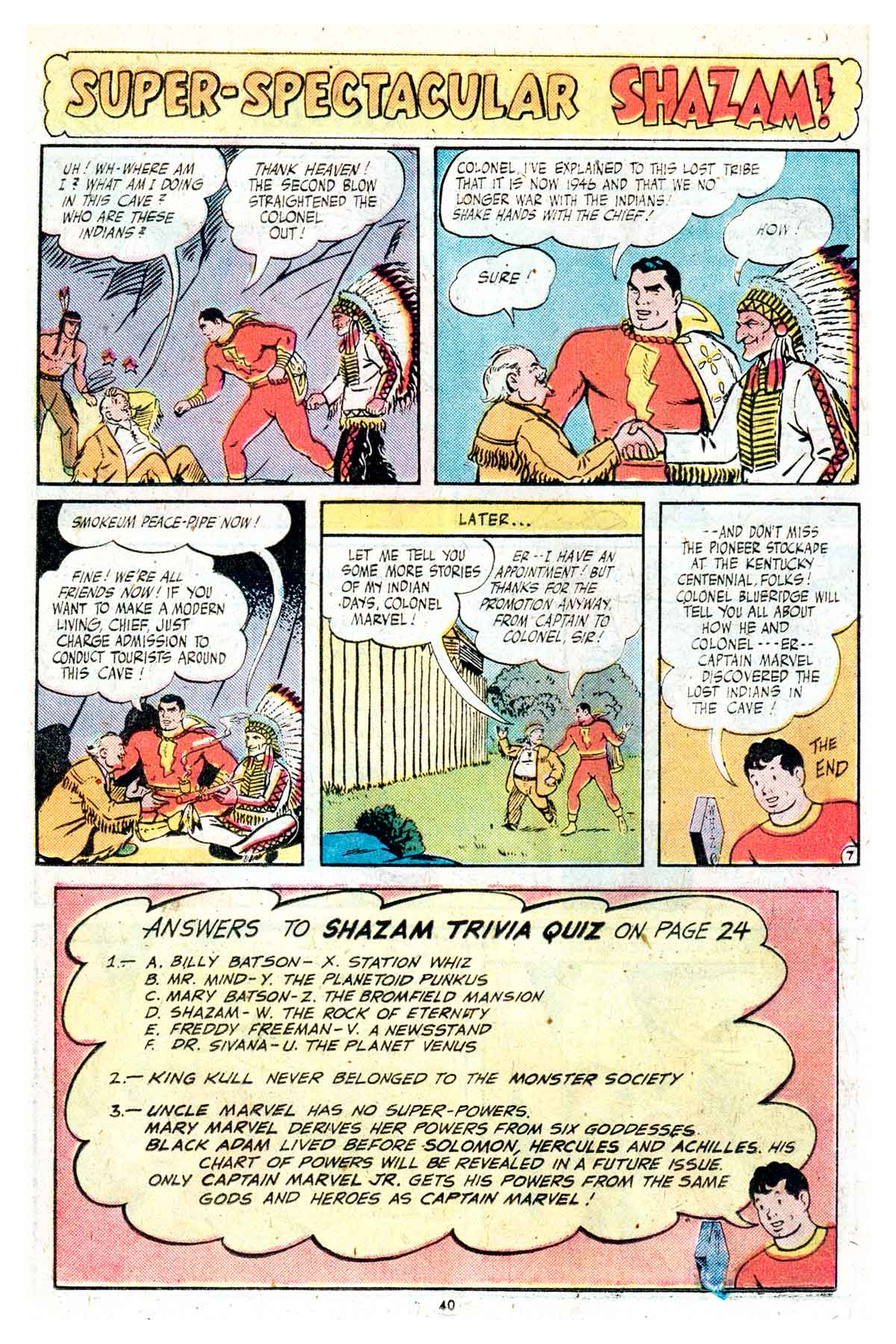 Read online Shazam! (1973) comic -  Issue #17 - 40