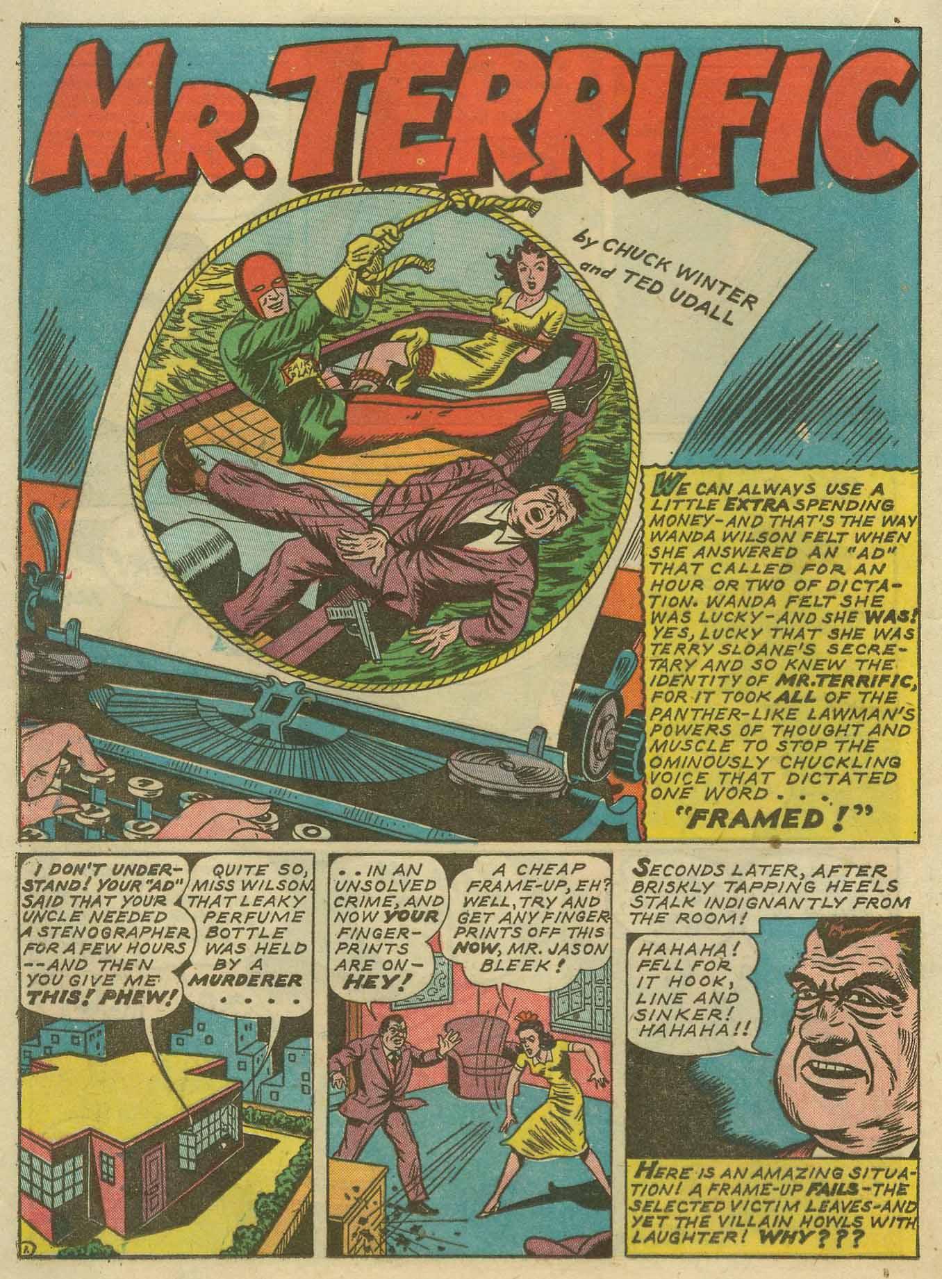 Read online Sensation (Mystery) Comics comic -  Issue #14 - 38