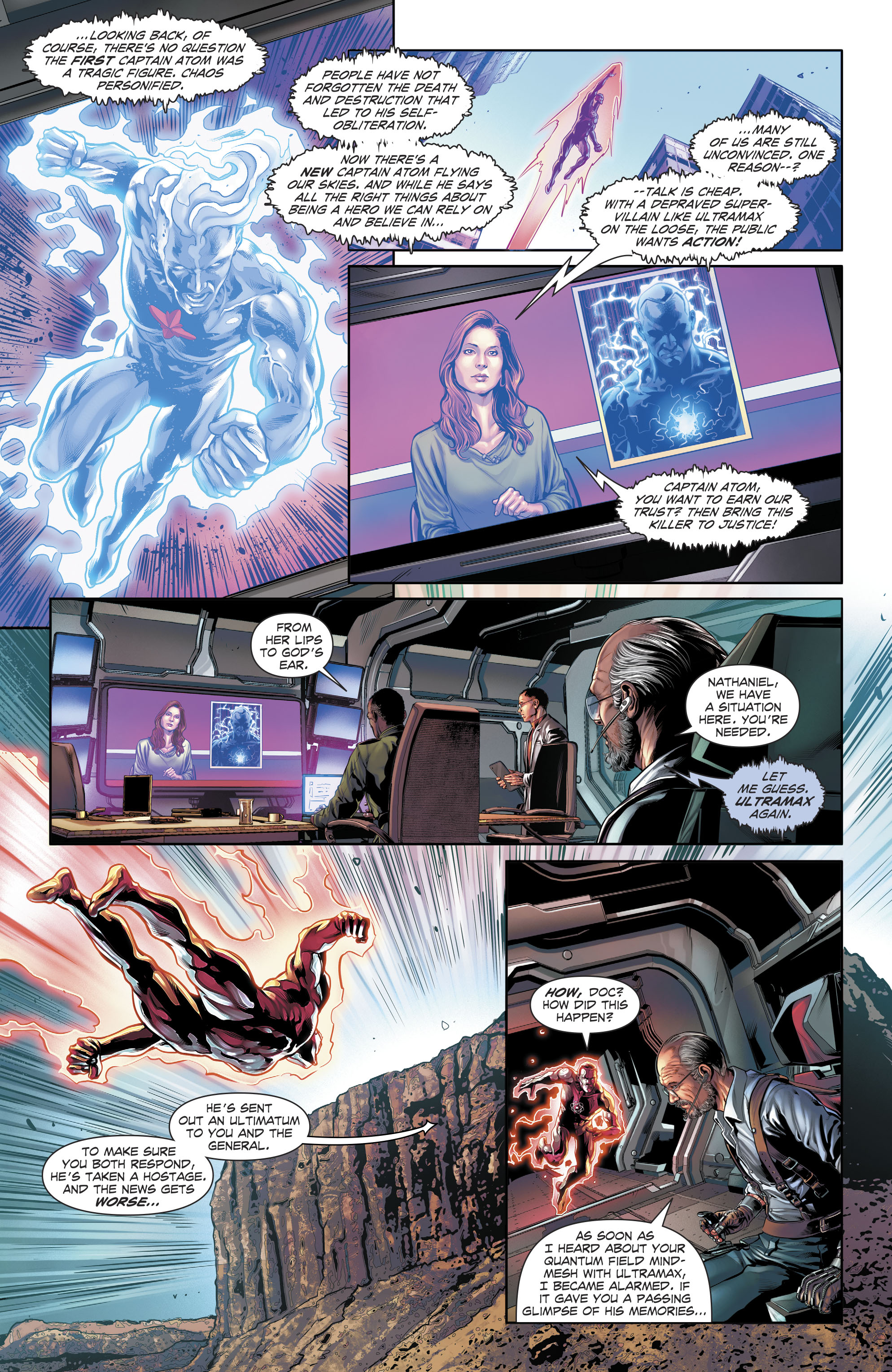 Read online The Fall and Rise of Captain Atom comic -  Issue #6 - 8