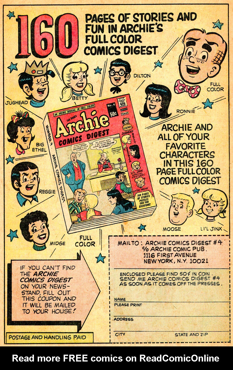 Read online Archie's Girls Betty and Veronica comic -  Issue #218 - 19