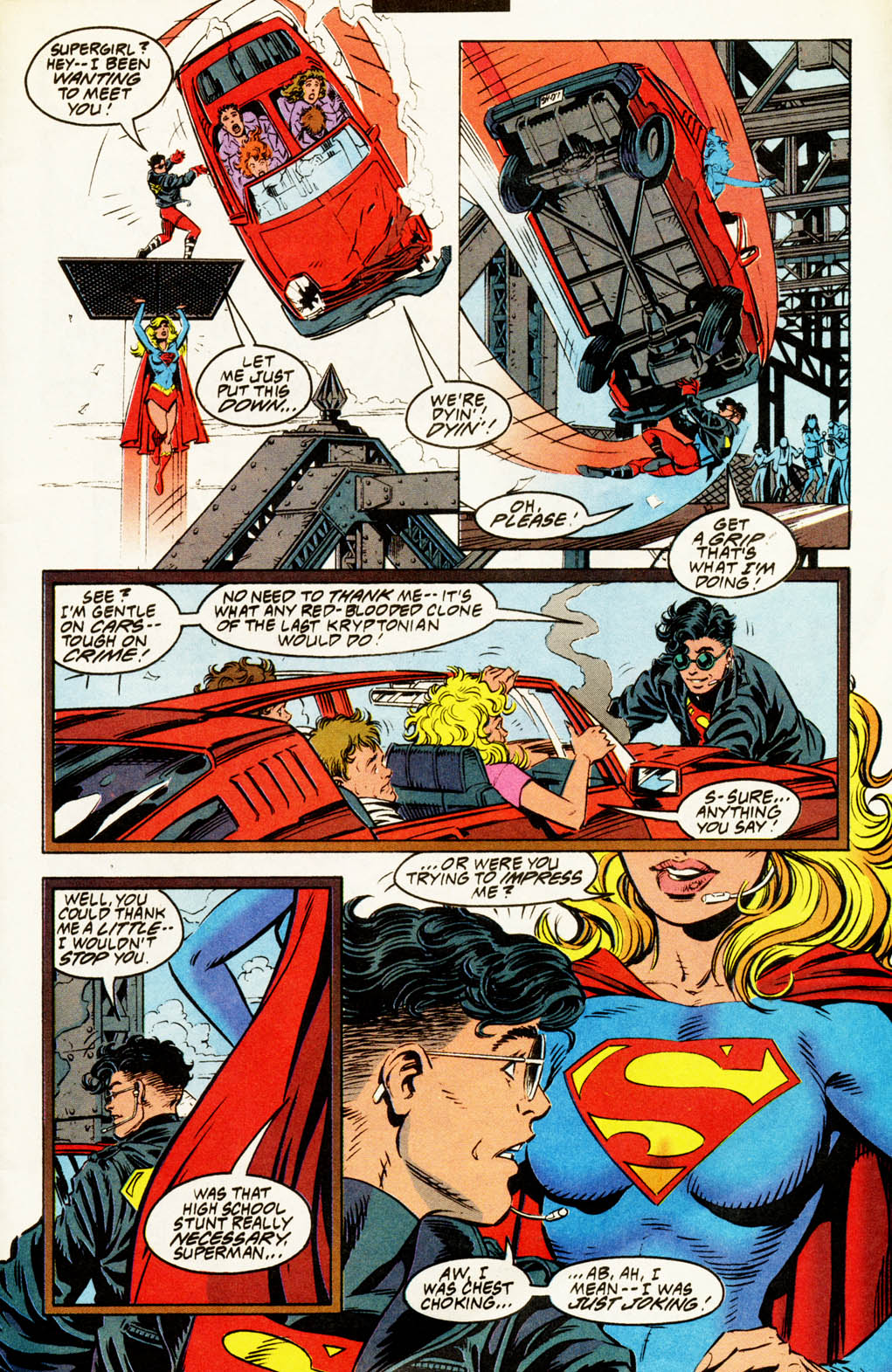 Read online Adventures of Superman (1987) comic -  Issue #502 - 4