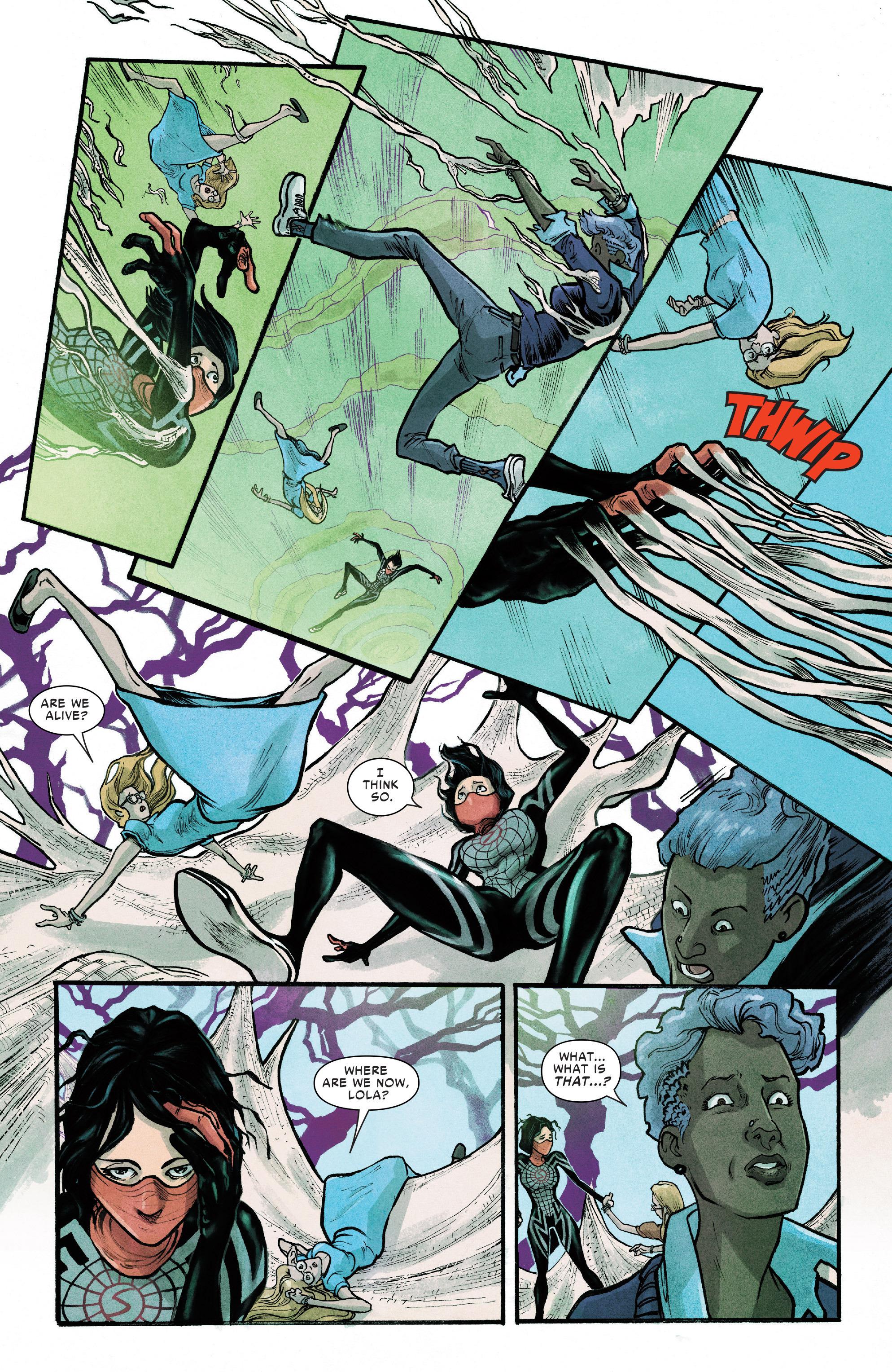 Read online Silk (2016) comic -  Issue #12 - 9