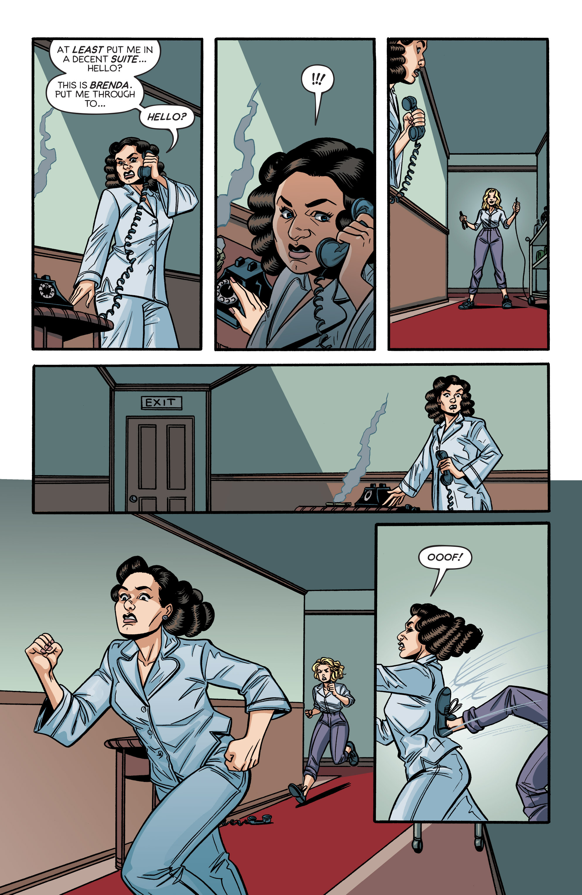 Read online Angel City comic -  Issue #6 - 10