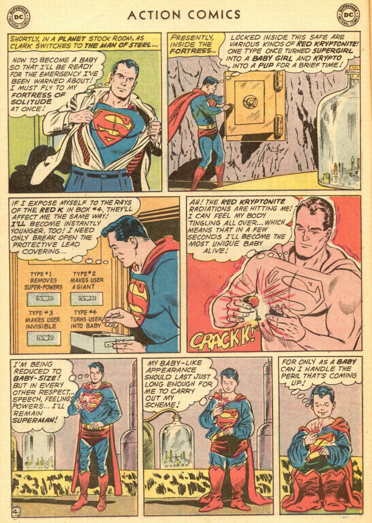 Read online Action Comics (1938) comic -  Issue #284 - 6