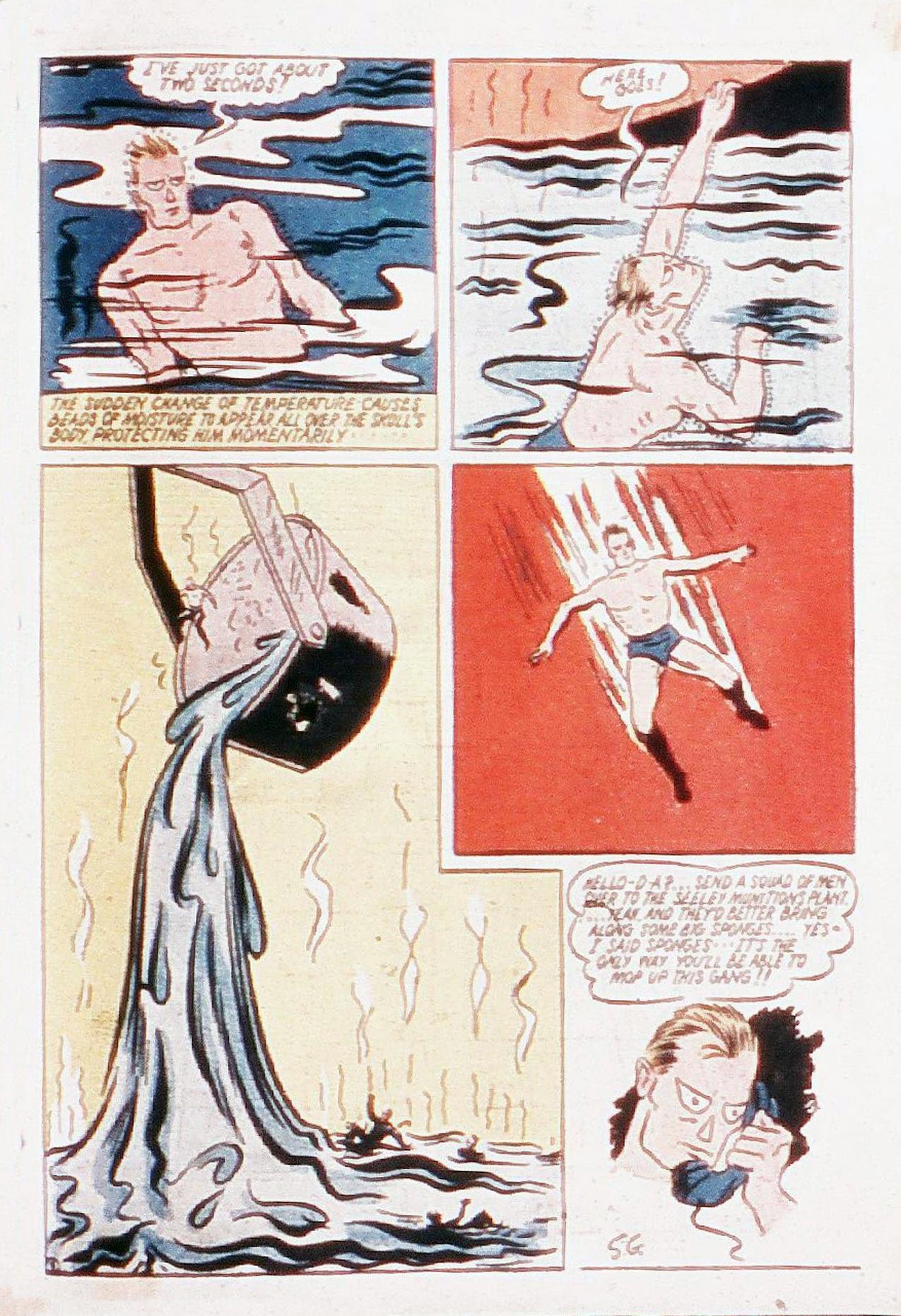 Read online Amazing Man Comics comic -  Issue #20 - 66