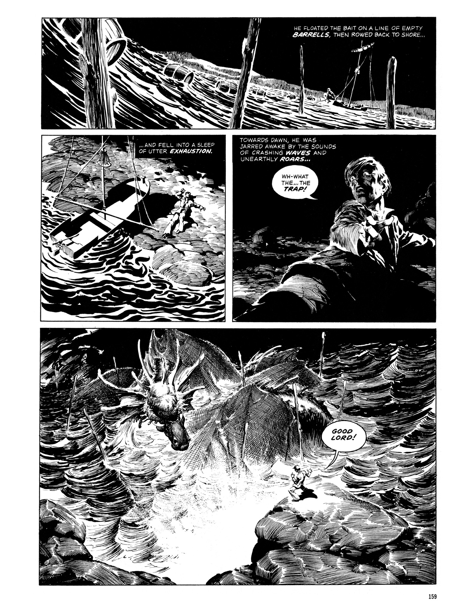 Read online Eerie Archives comic -  Issue # TPB 12 - 160
