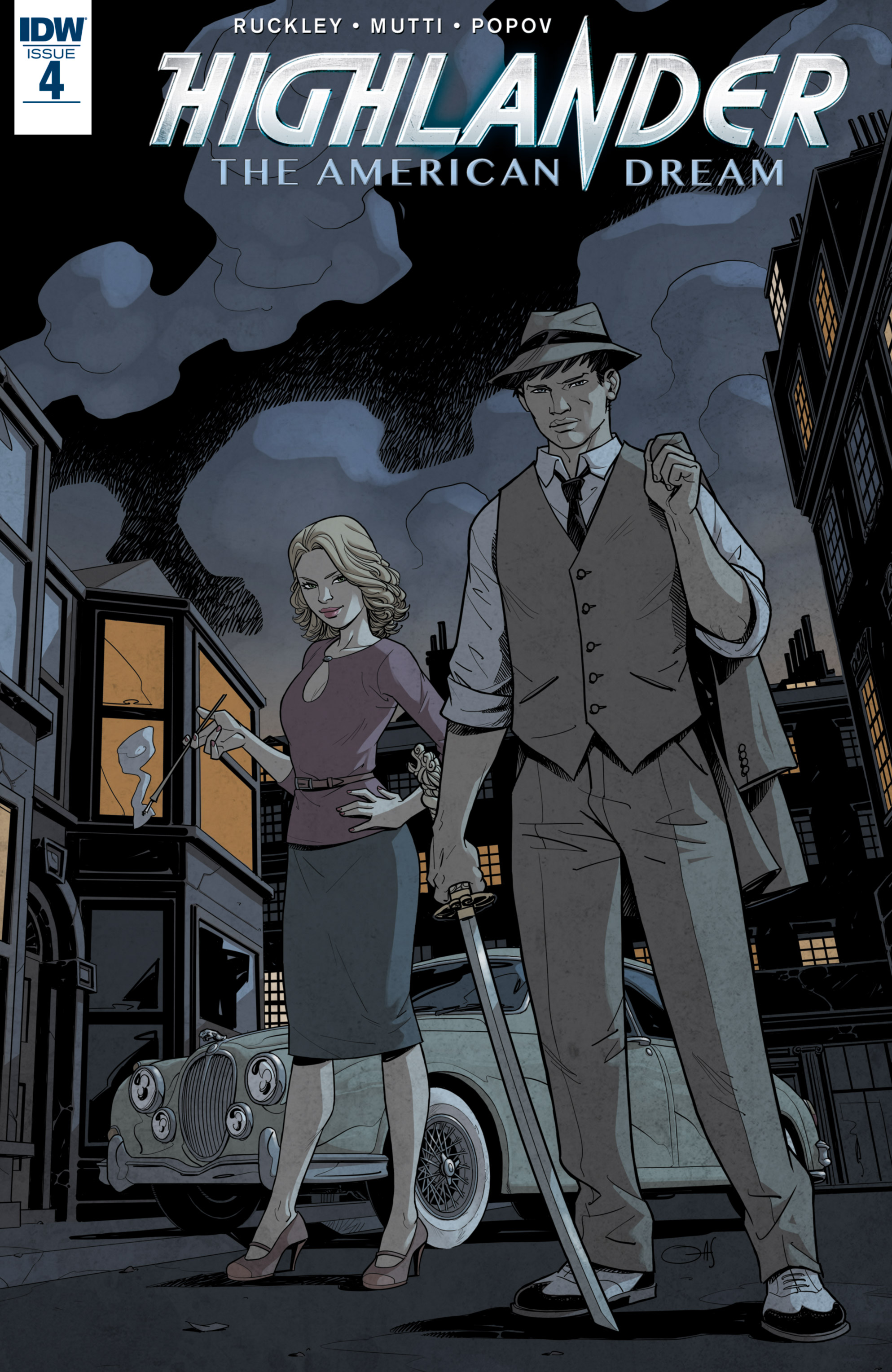 Read online Highlander: The American Dream comic -  Issue #4 - 1