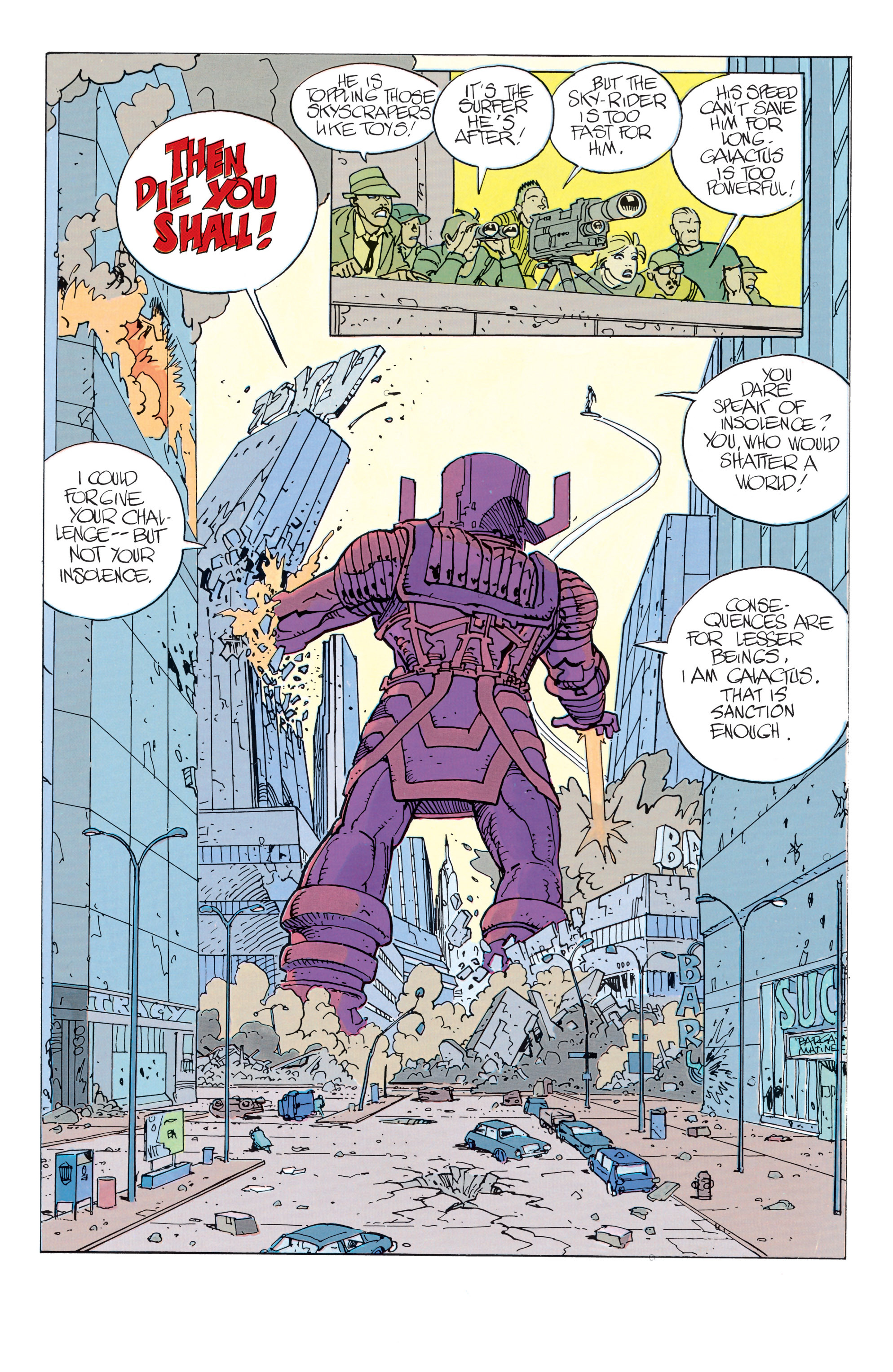 Read online Silver Surfer: Parable comic -  Issue # TPB - 38