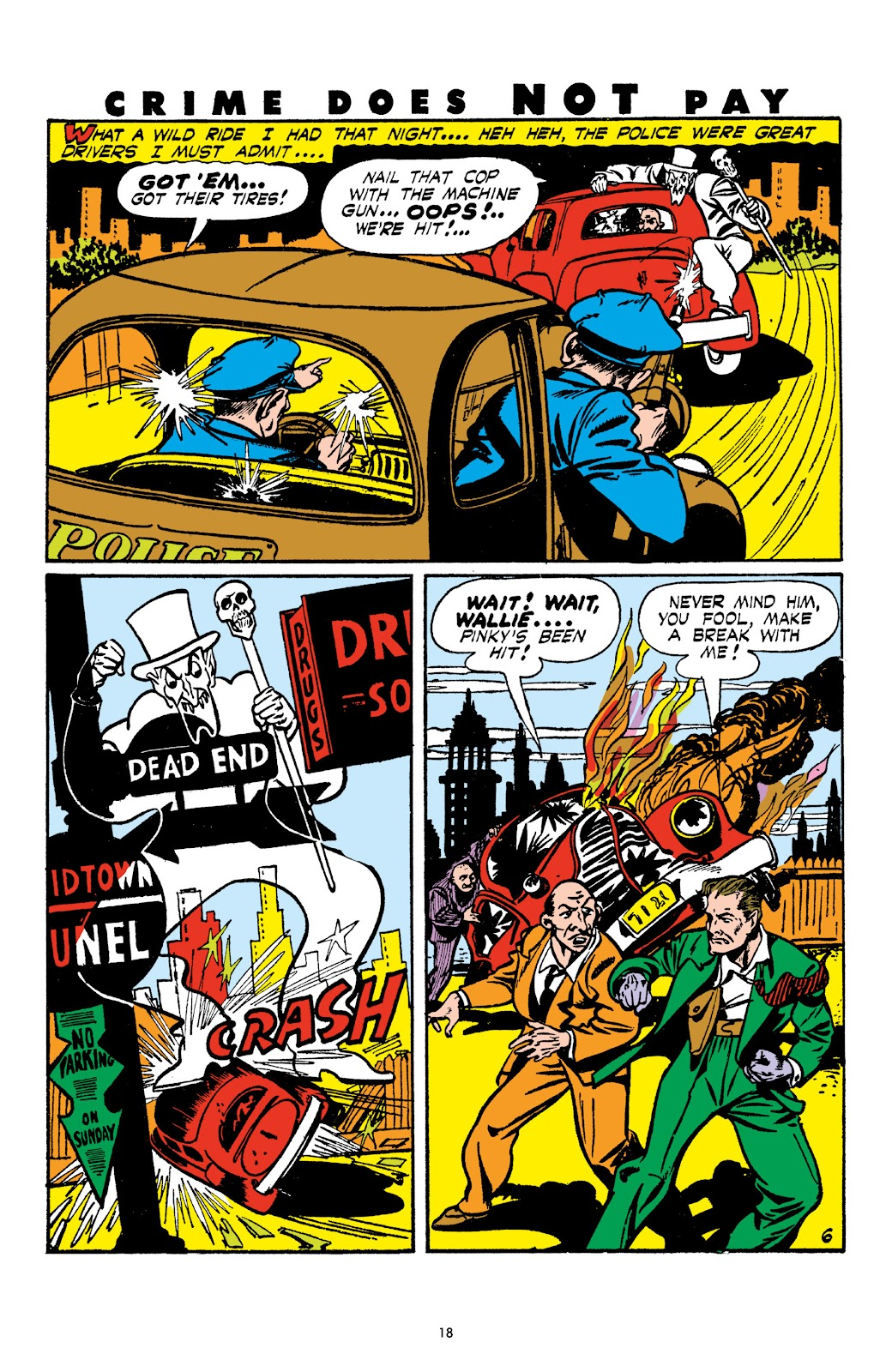 Read online Crime Does Not Pay Archives comic -  Issue # TPB 4 (Part 1) - 18