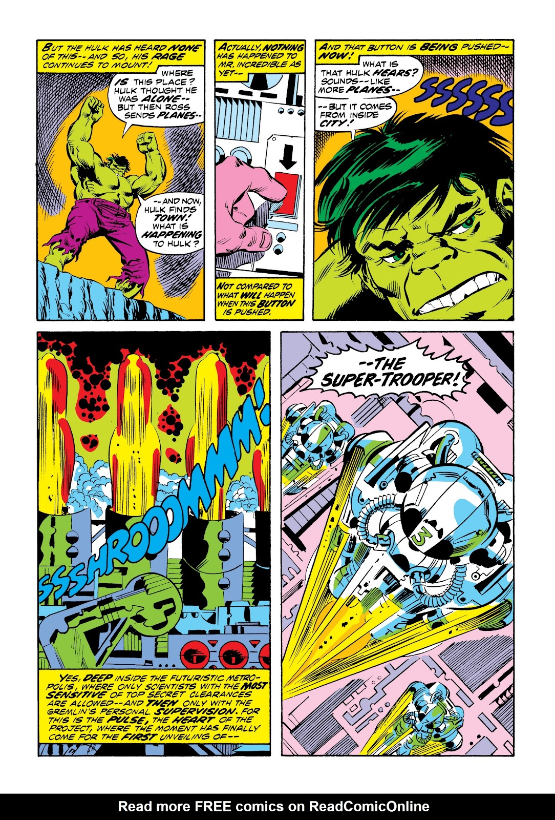 Read online Marvel Masterworks: The Incredible Hulk comic -  Issue # TPB 9 (Part 2) - 42