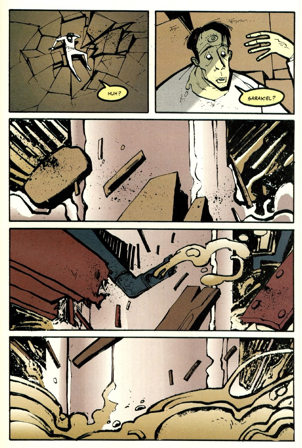 Read online Ted McKeever's Metropol comic -  Issue #8 - 23