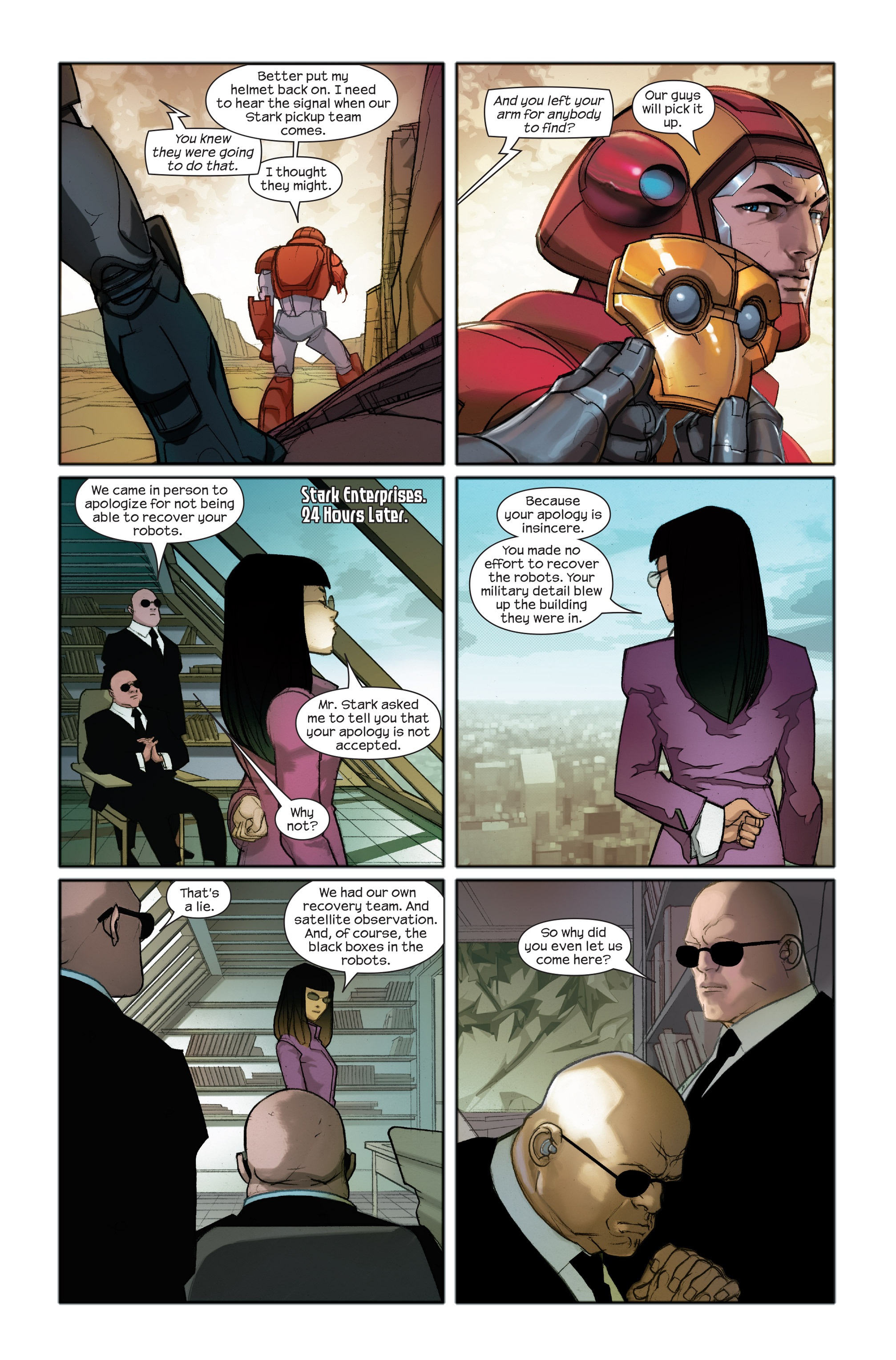 Read online Ultimate Iron Man II comic -  Issue #2 - 9