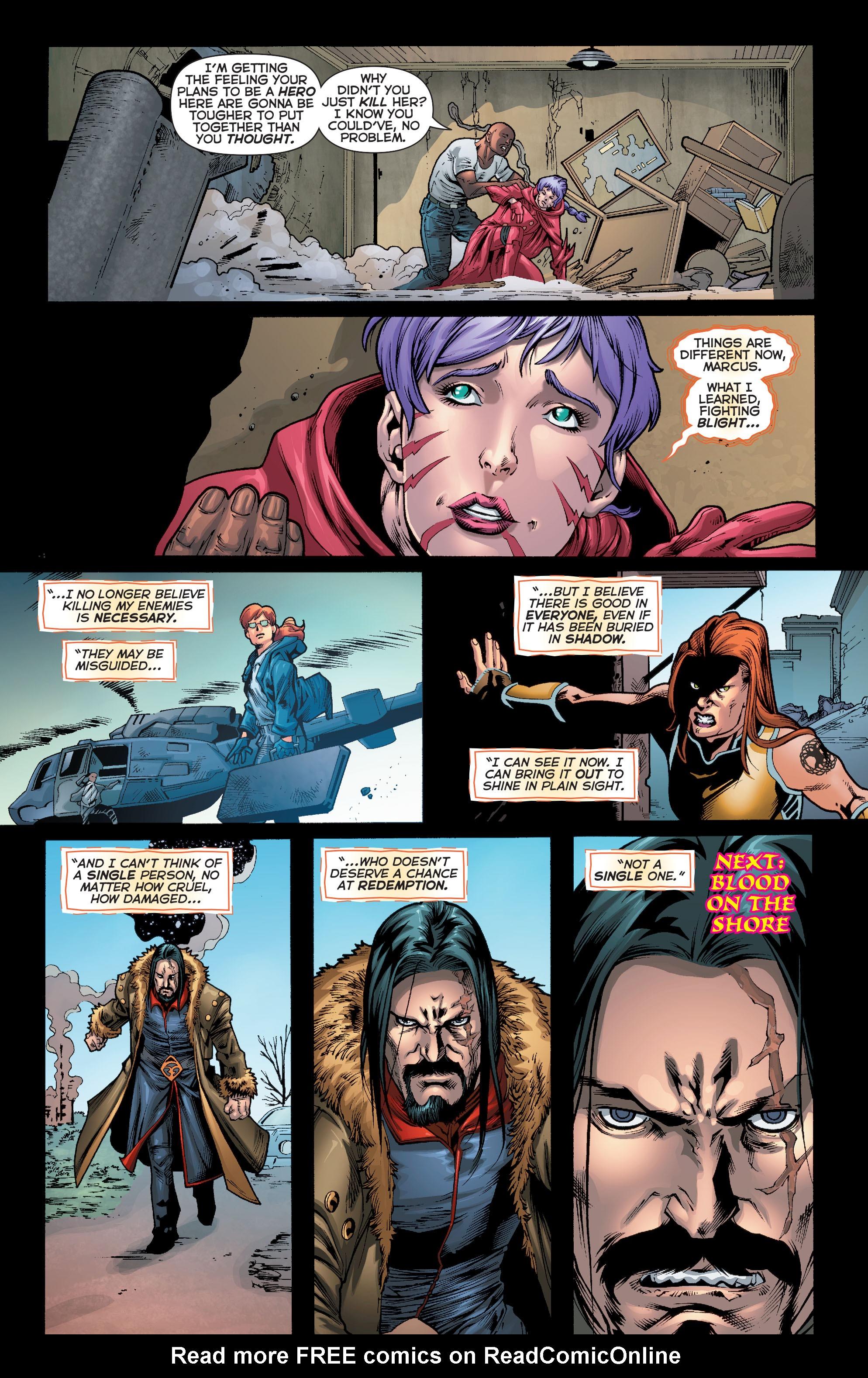 Read online Trinity of Sin: Pandora comic -  Issue #10 - 21