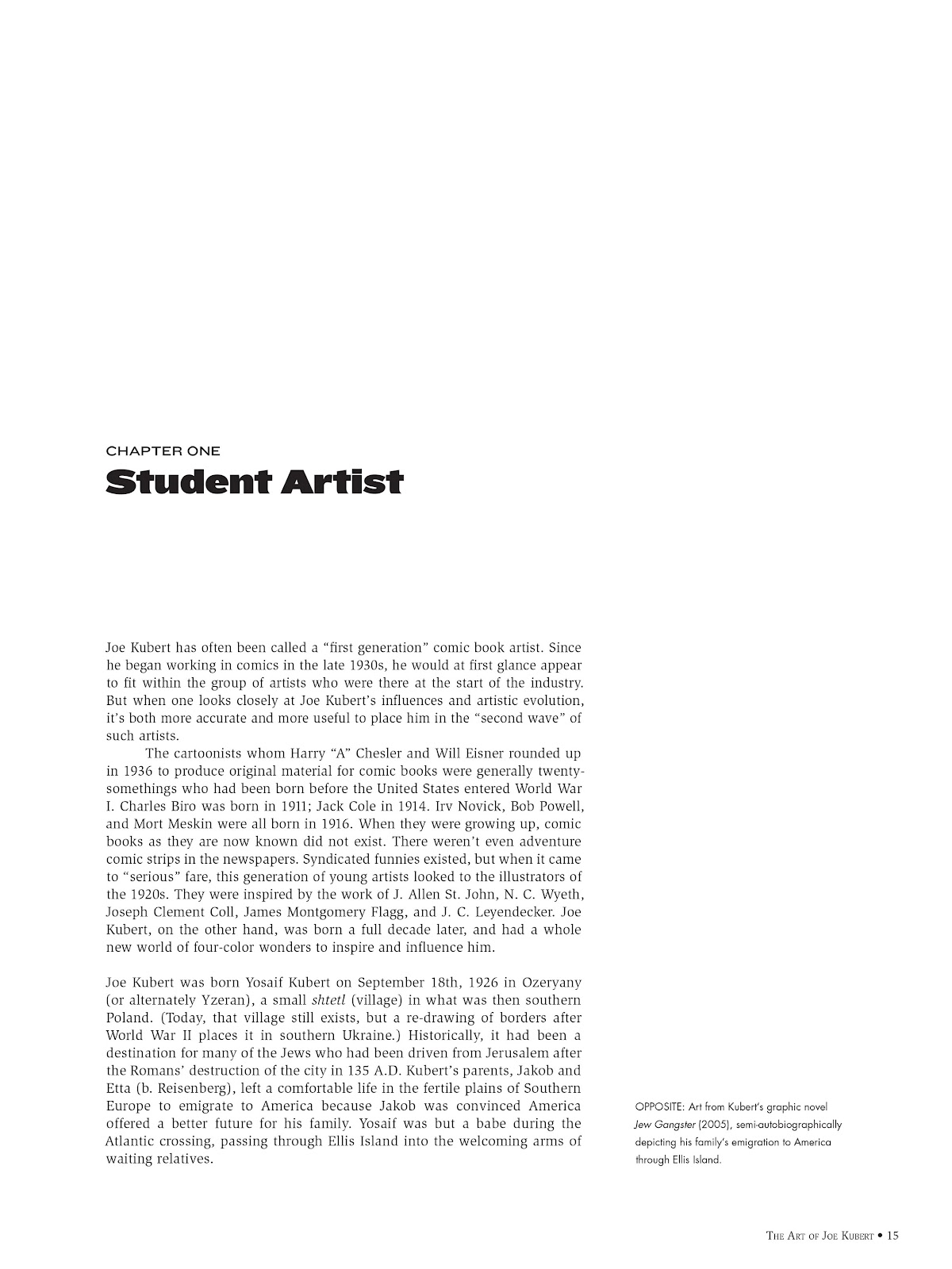 Read online The Art of Joe Kubert comic -  Issue # TPB (Part 1) - 15