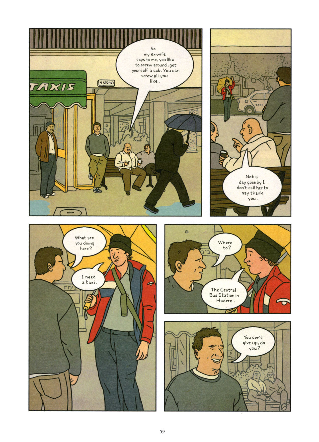 Read online Exit Wounds comic -  Issue # TPB - 60