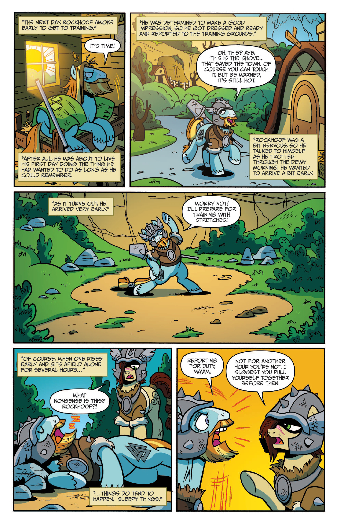 Read online My Little Pony: Legends of Magic comic -  Issue #2 - 6