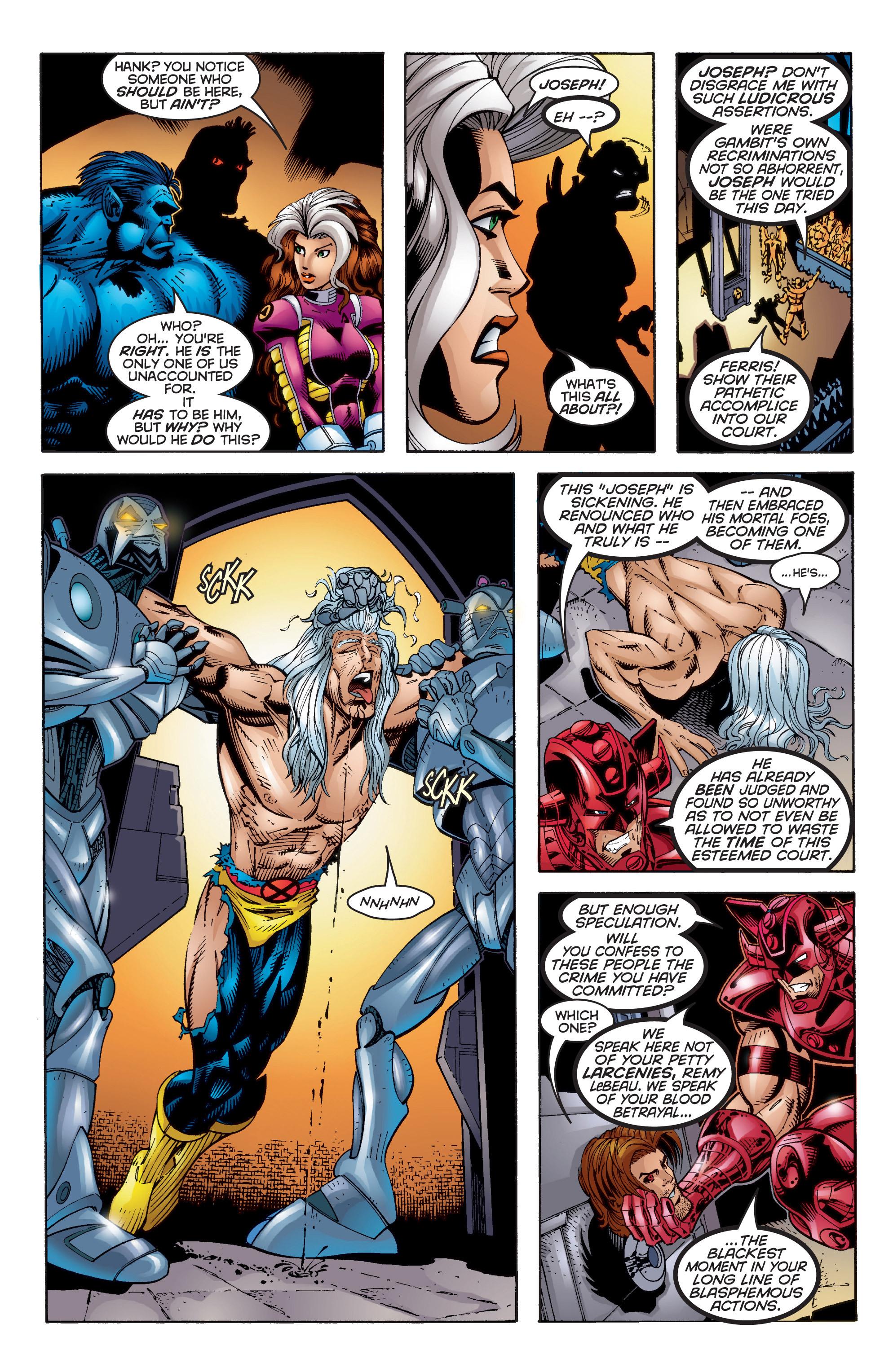 Read online Uncanny X-Men (1963) comic -  Issue #350 - 27
