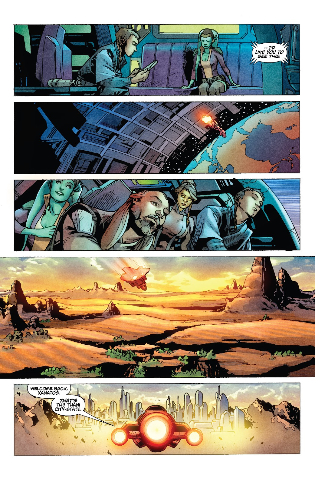 Read online Star Wars Legends: Rise of the Sith - Epic Collection comic -  Issue # TPB 1 (Part 1) - 97
