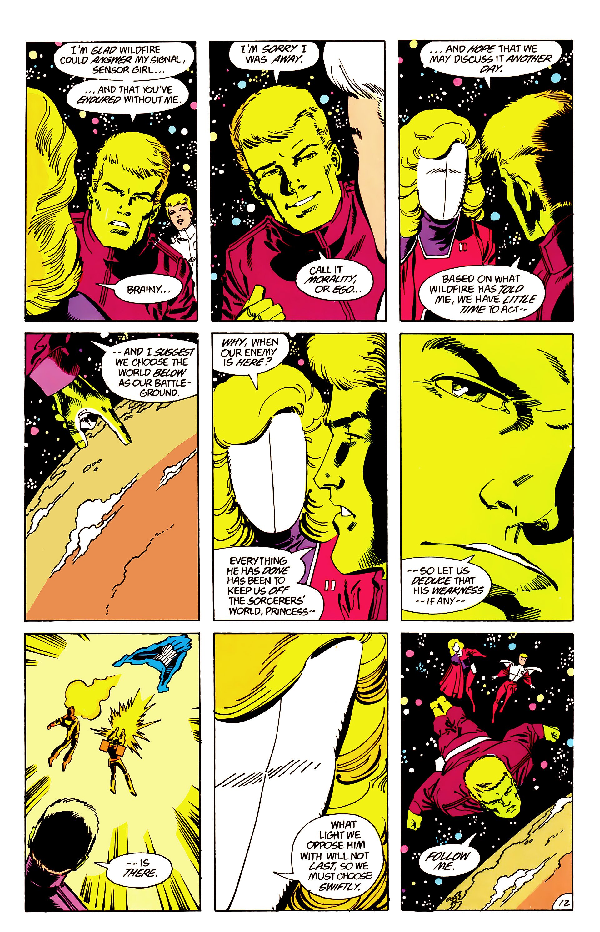Legion of Super-Heroes (1984) 63 Page 12